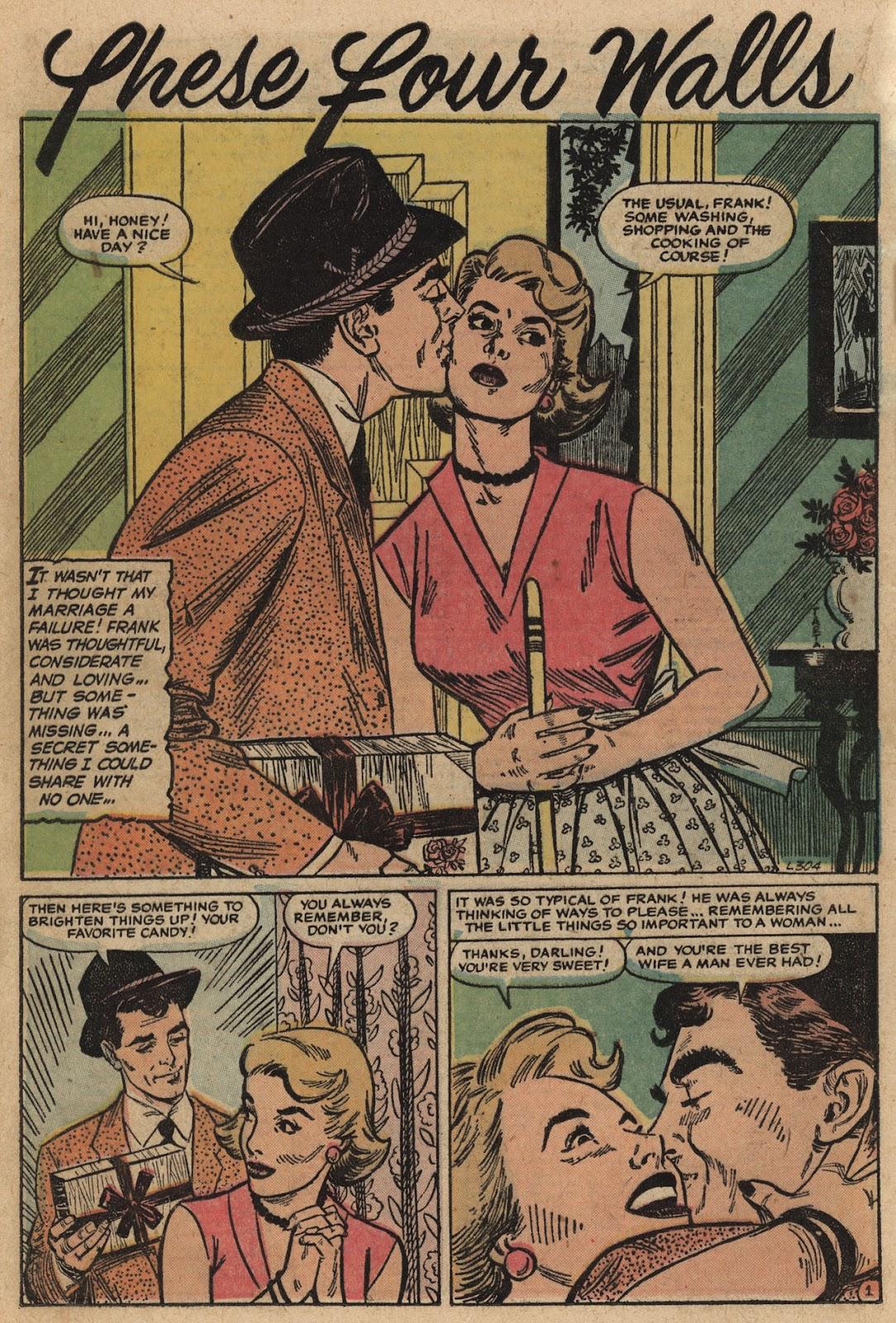 Love Romances (1949) issue 66 - Page 16