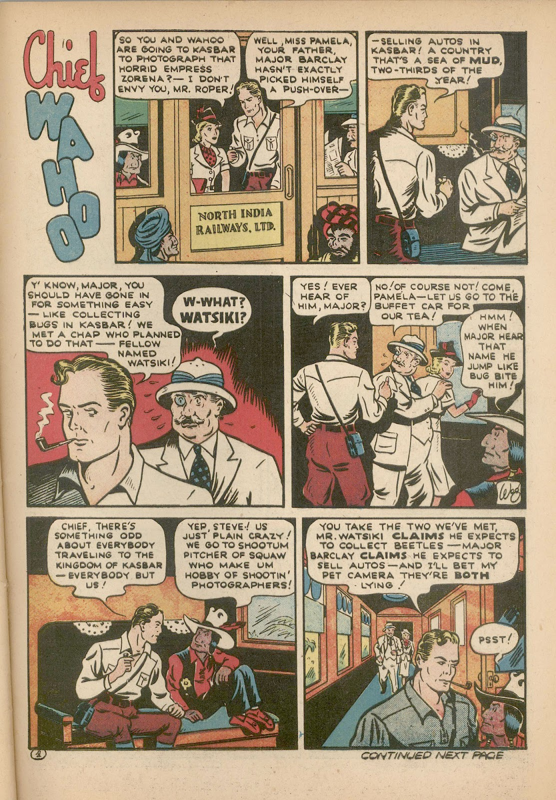 Read online Famous Funnies comic -  Issue #98 - 56