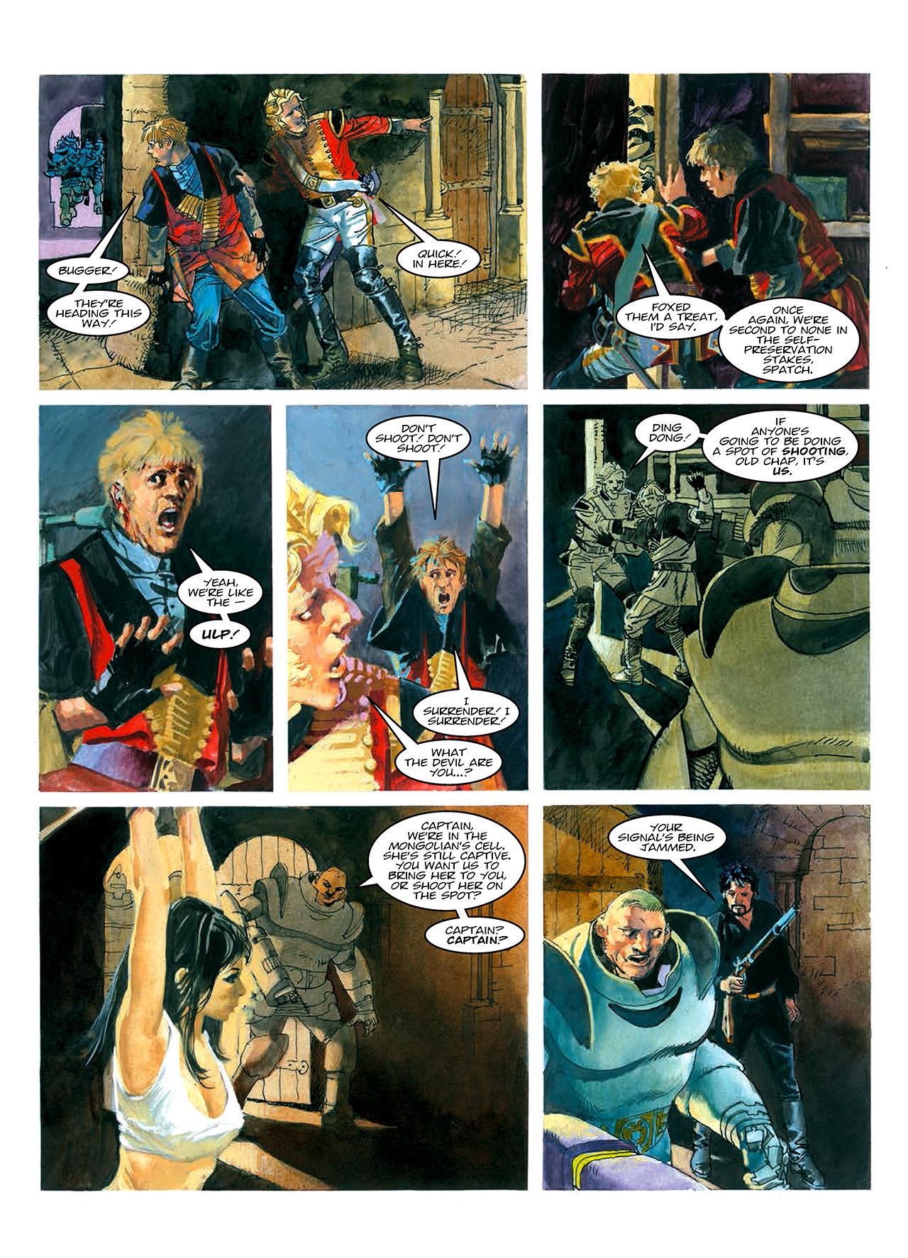 Read online Nikolai Dante comic -  Issue # TPB 10 - 58