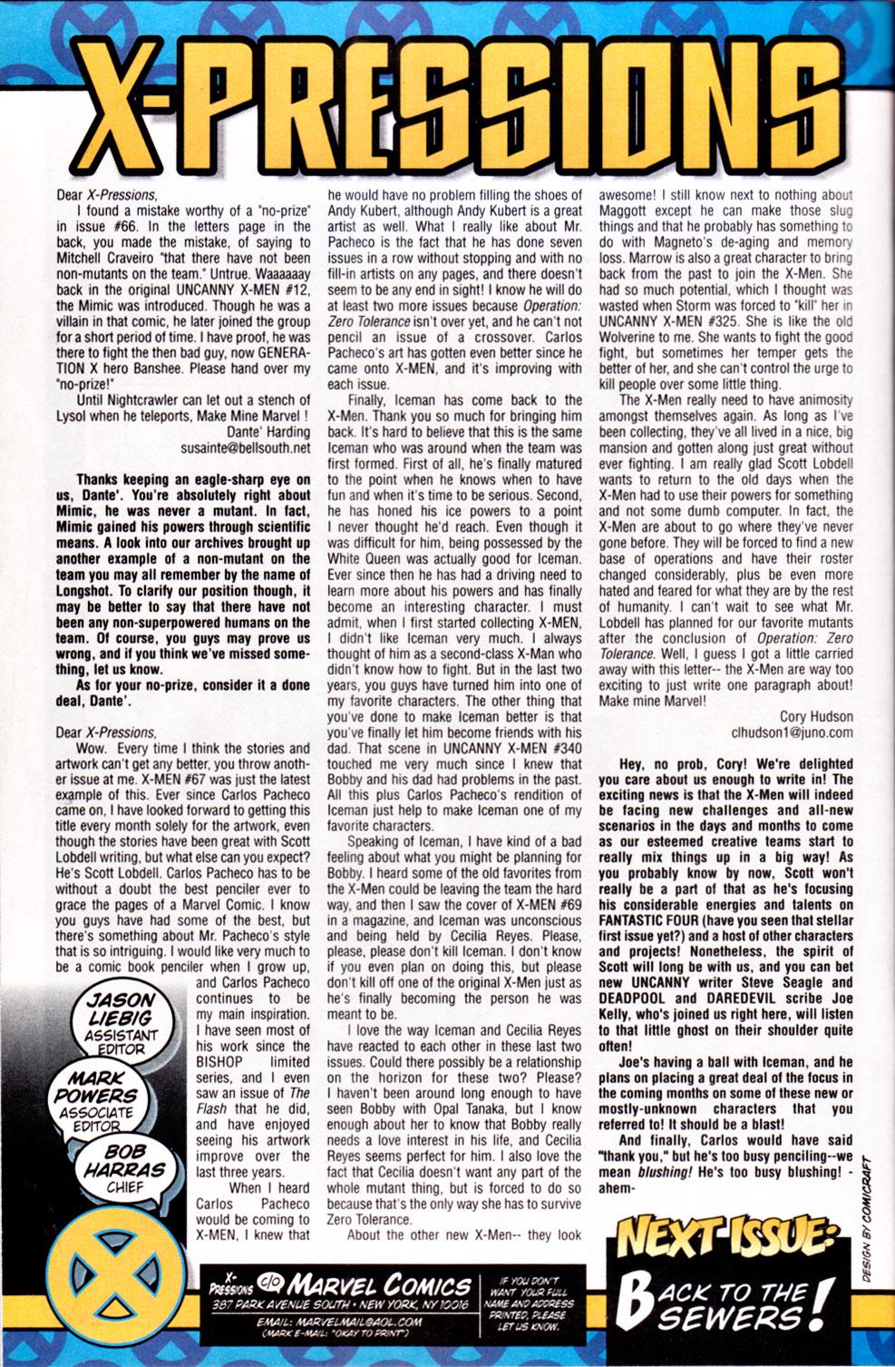 X-Men (1991) 72 Page 25