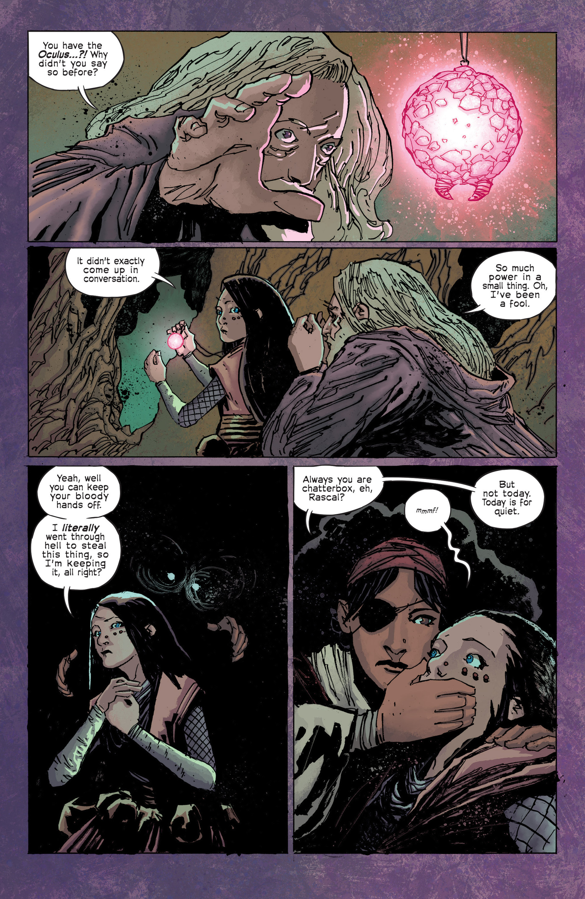 Read online Umbral comic -  Issue #3 - 16