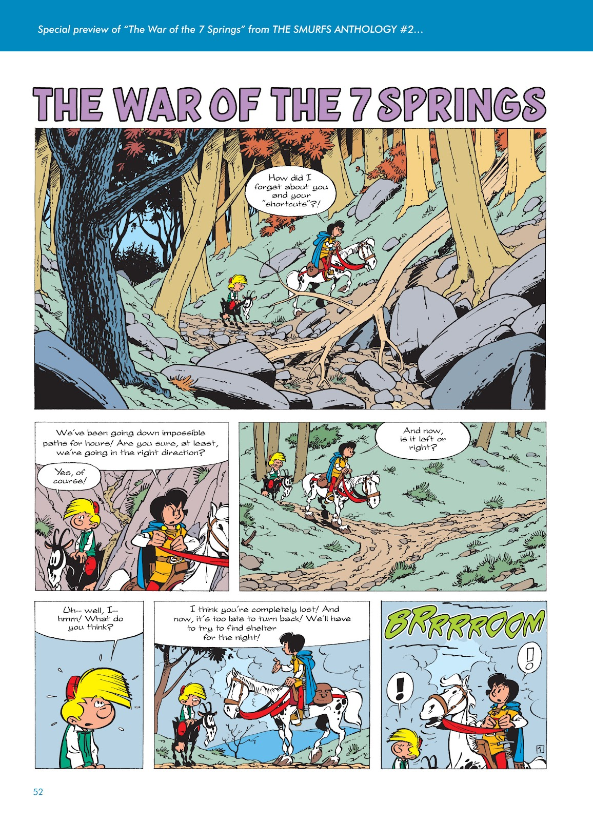 Read online The Smurfs comic -  Issue #17 - 52