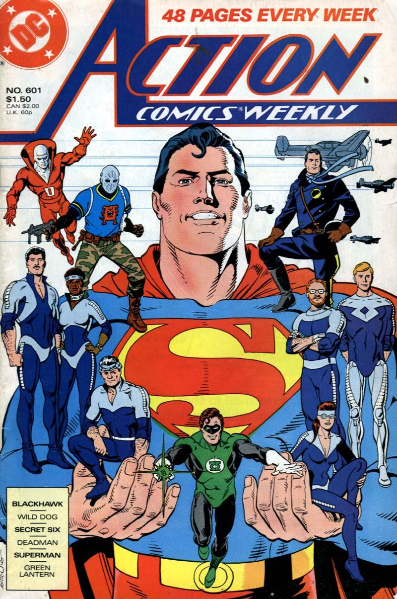Action Comics (1938) 601 Page 1