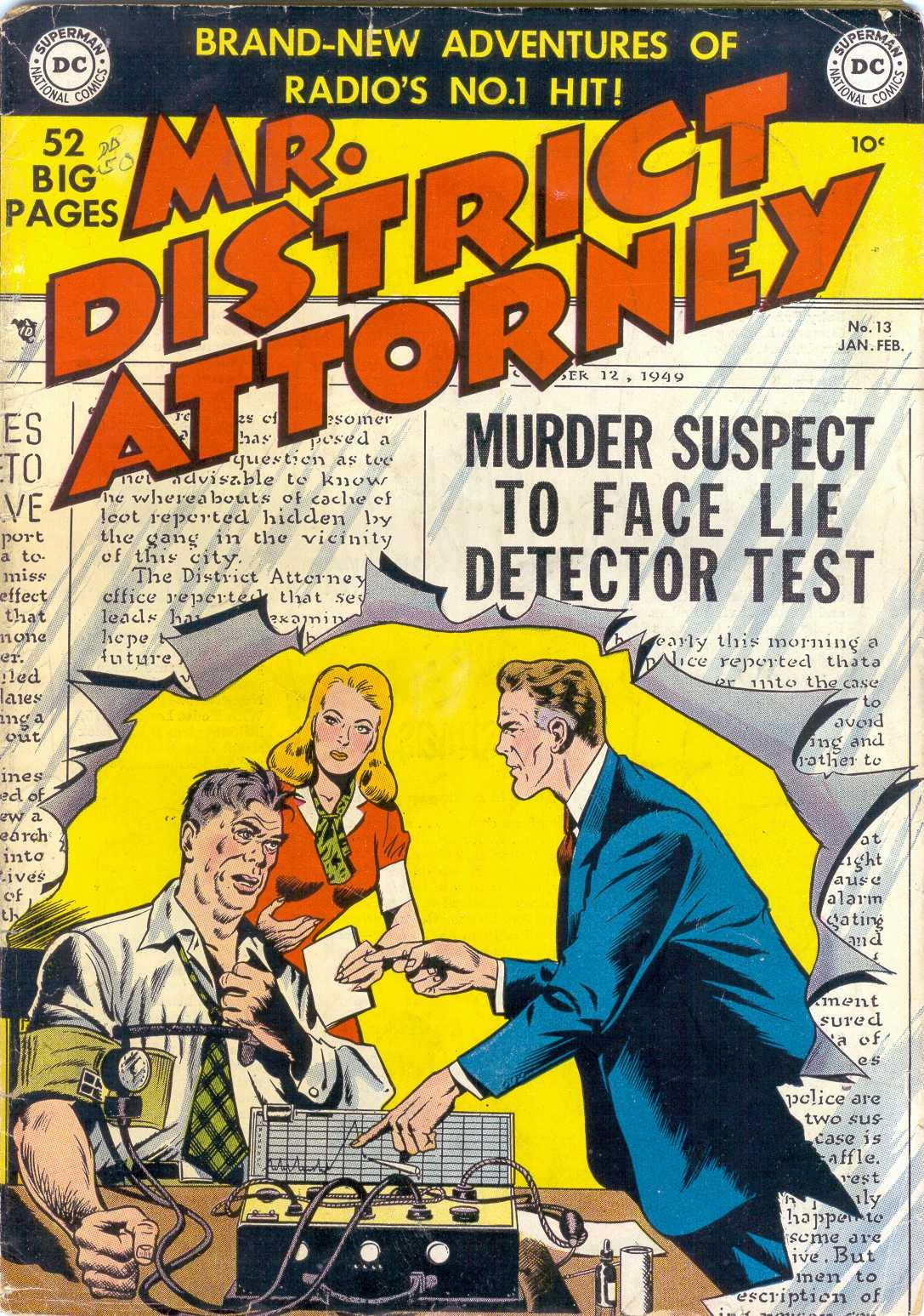 Mr. District Attorney issue 13 - Page 1