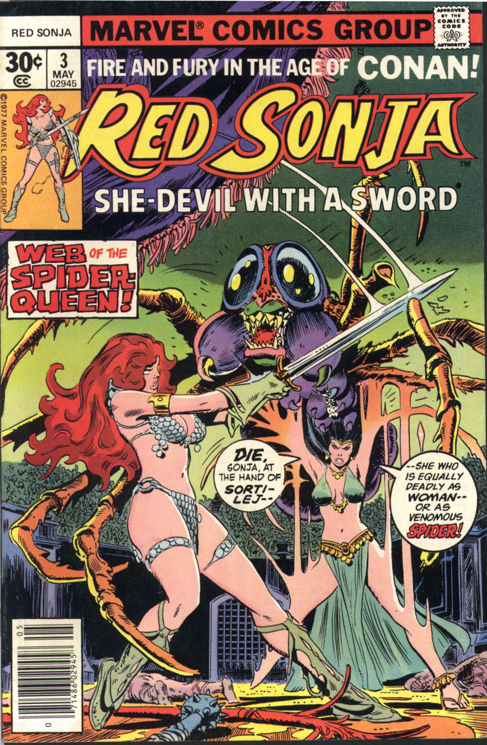 Red Sonja (1977) issue 3 - Page 1