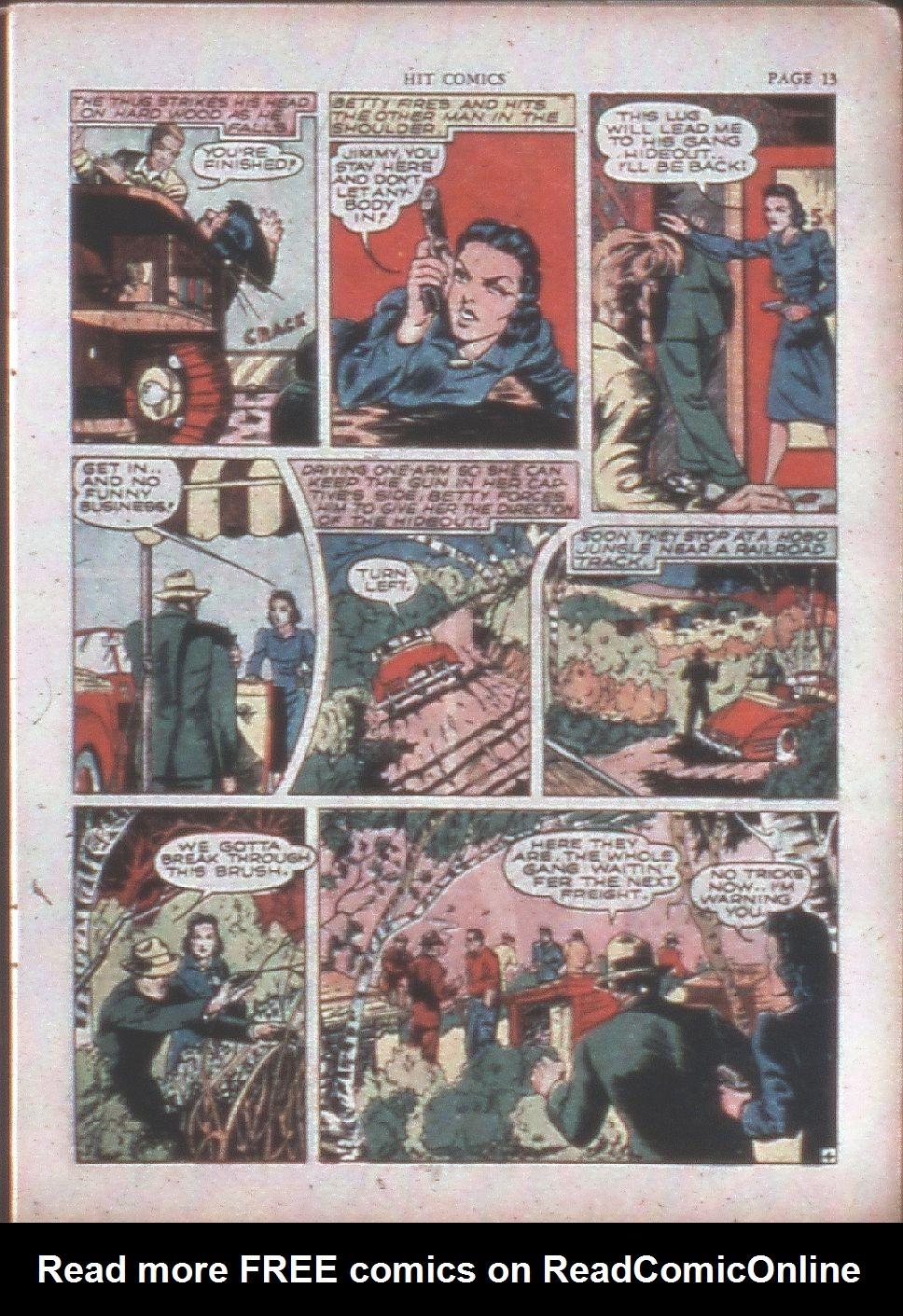 Read online Hit Comics comic -  Issue #15 - 15