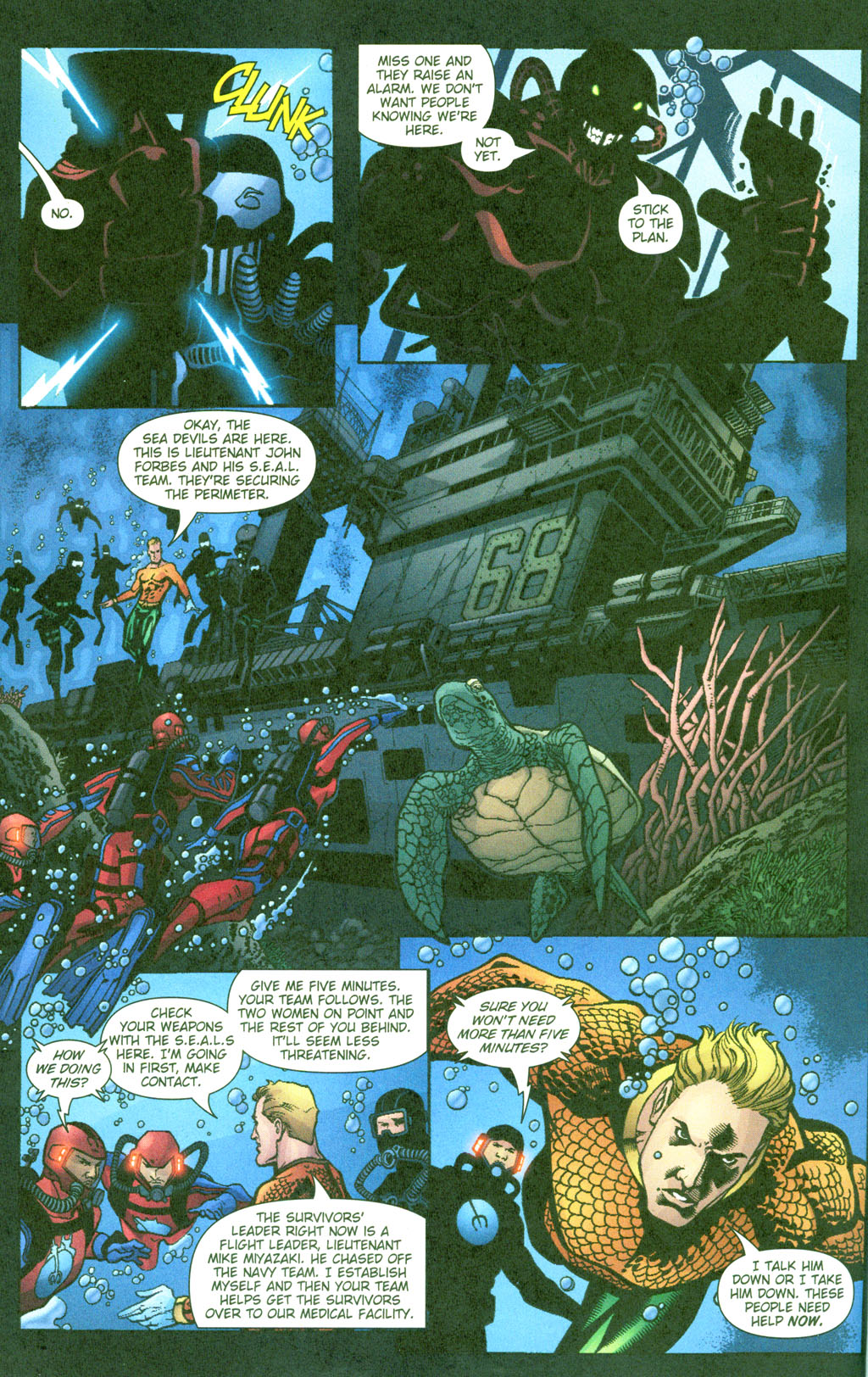 Read online Aquaman (2003) comic -  Issue #23 - 13