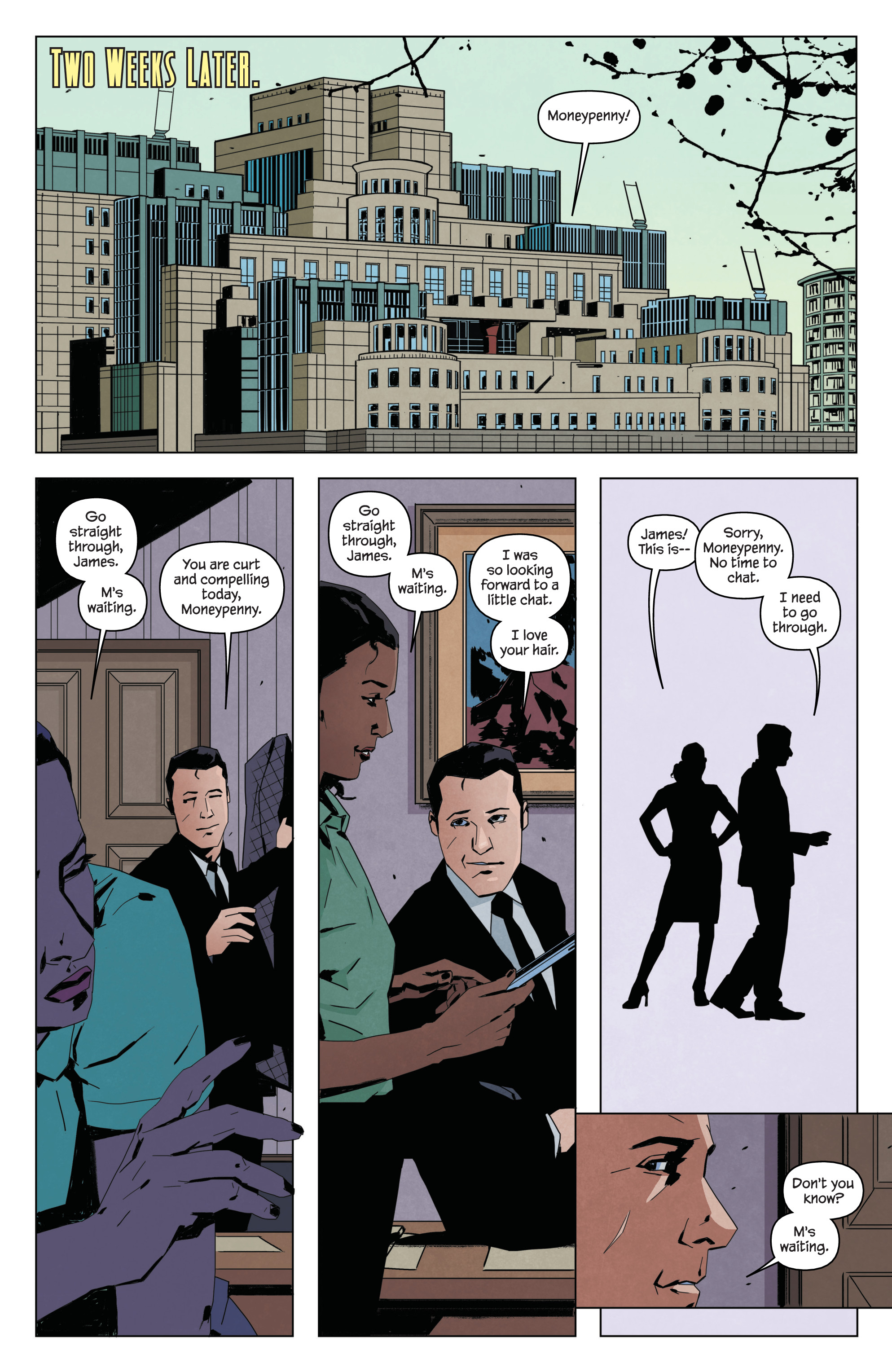 Read online James Bond: Service comic -  Issue # Full - 8