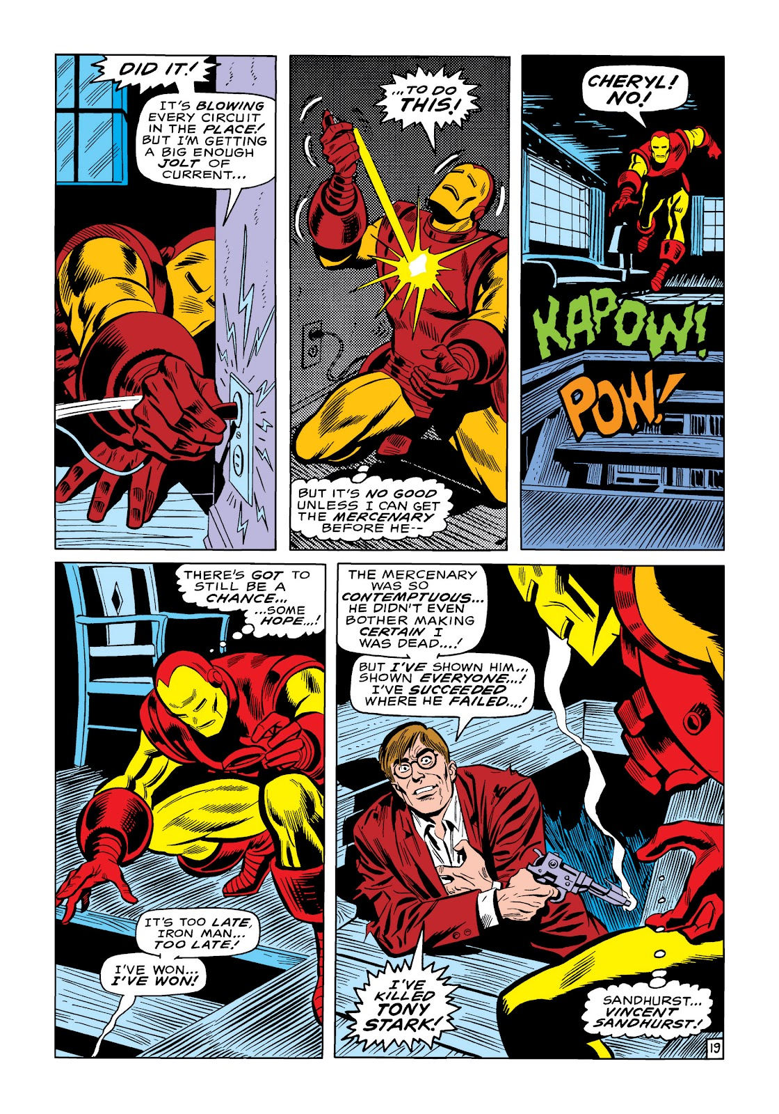 Read online Marvel Masterworks: The Invincible Iron Man comic -  Issue # TPB 6 (Part 3) - 14