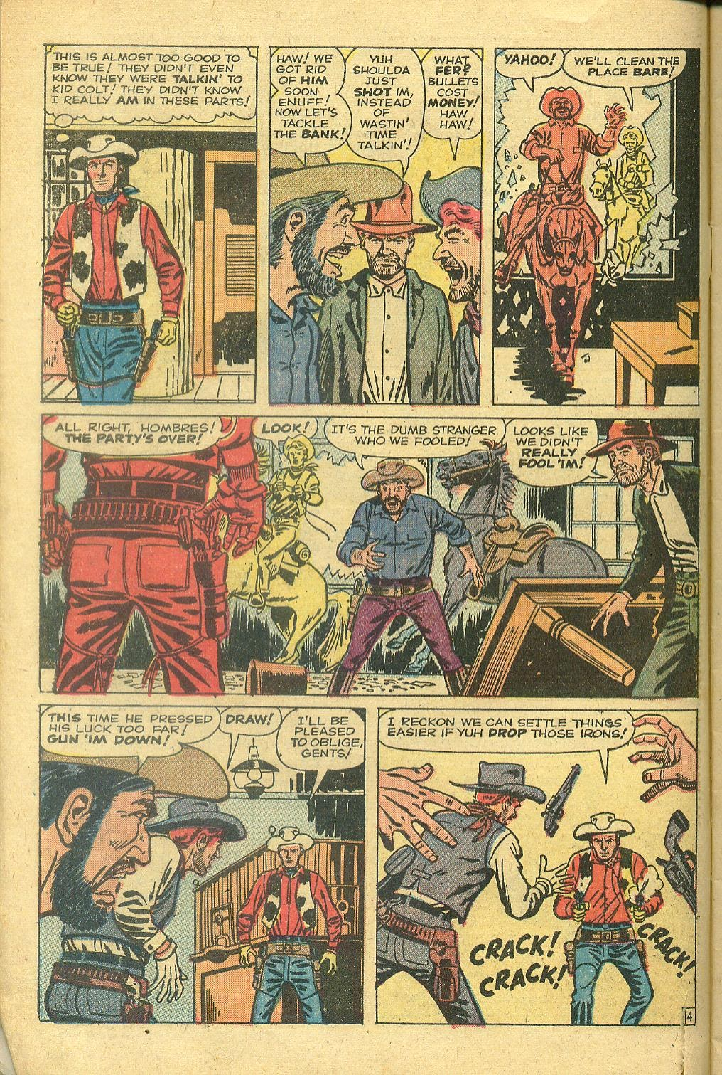 Gunsmoke Western issue 58 - Page 6