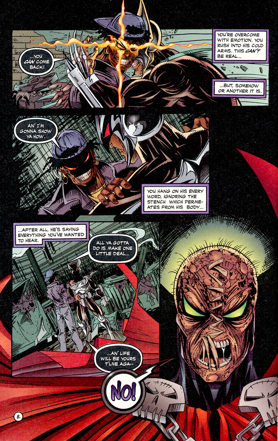 Read online ShadowHawk comic -  Issue #17 - 8