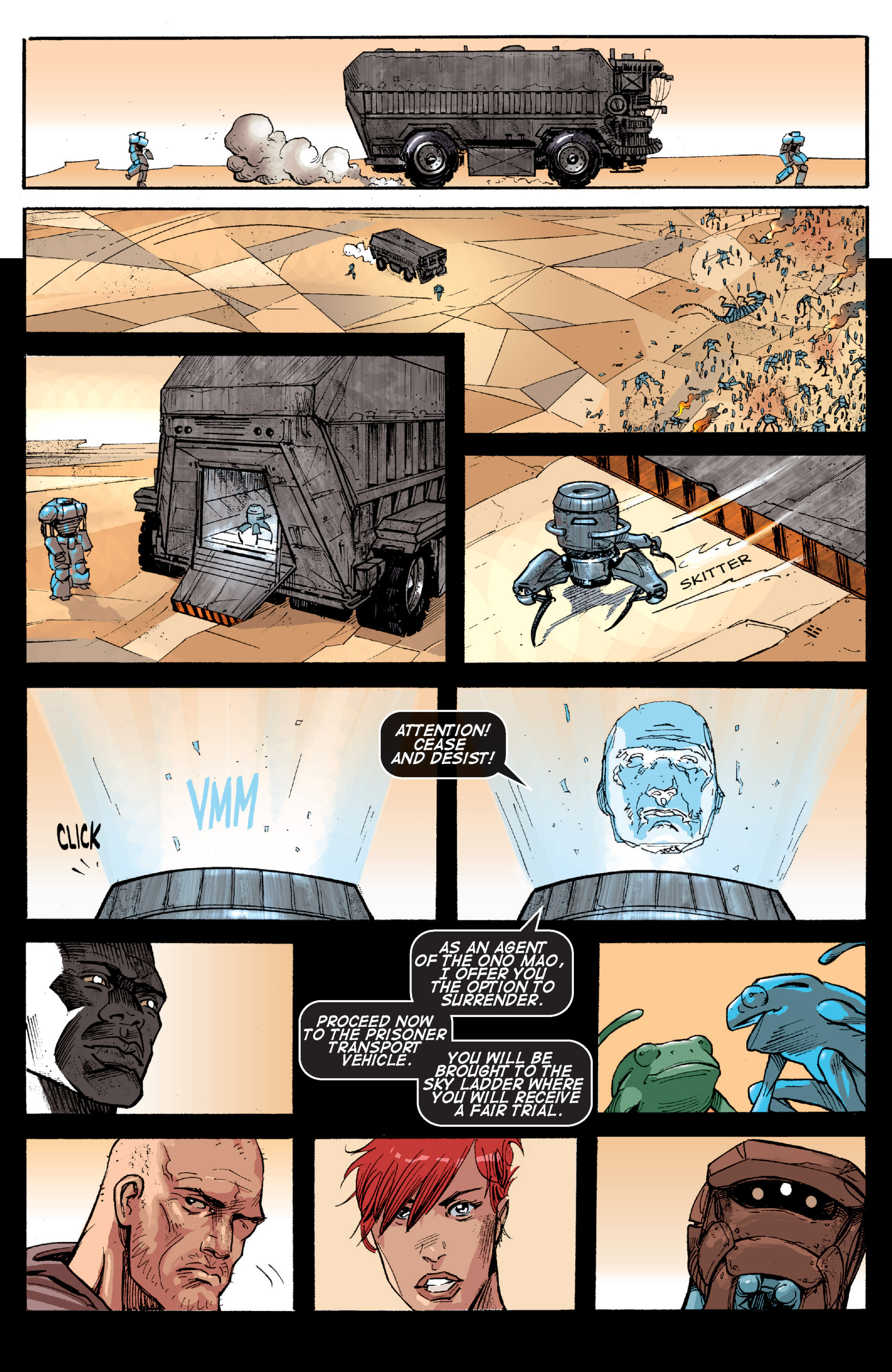 Read online Planetoid comic -  Issue # TPB - 148