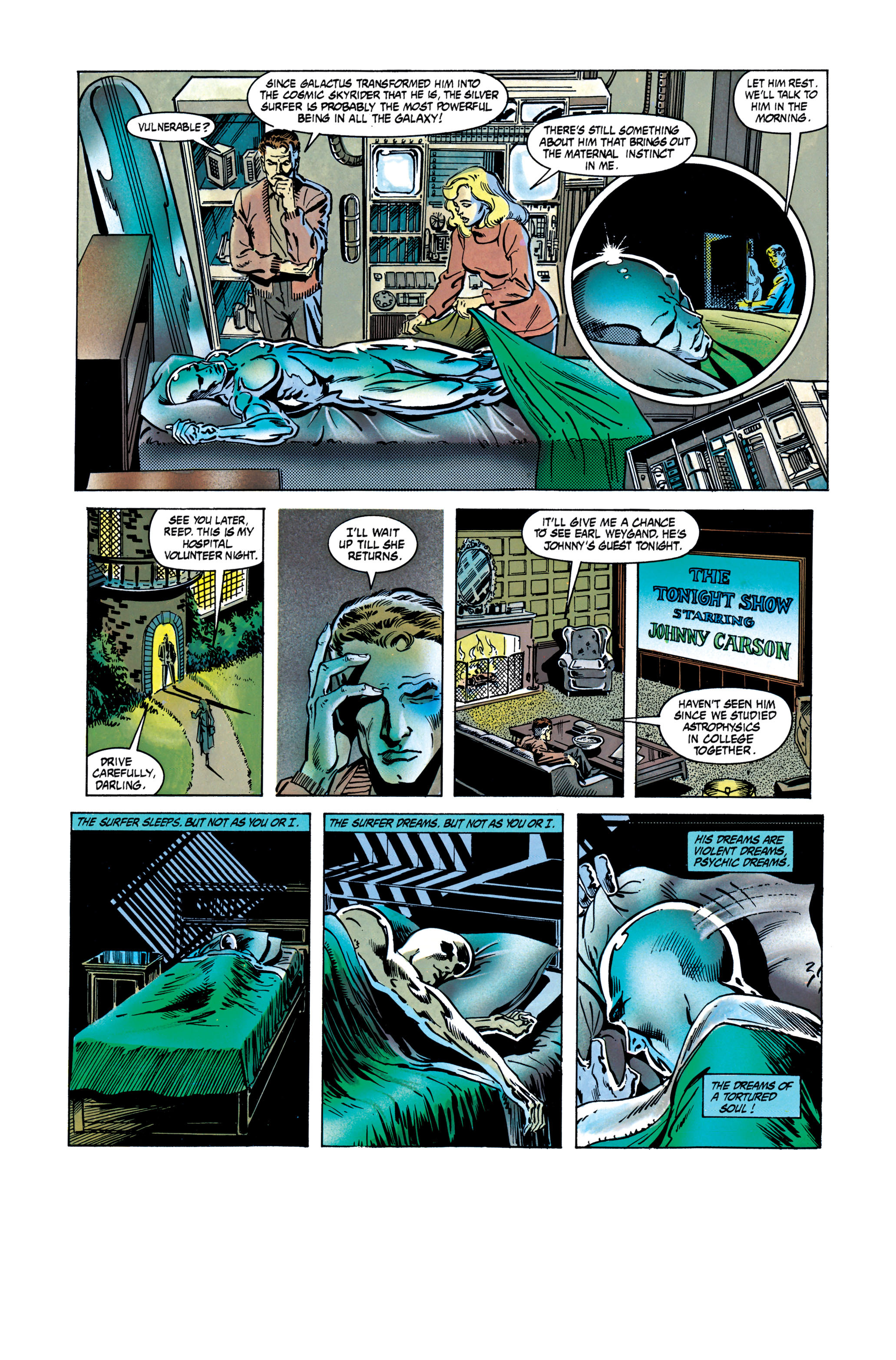 Read online Silver Surfer: Parable comic -  Issue # TPB - 67