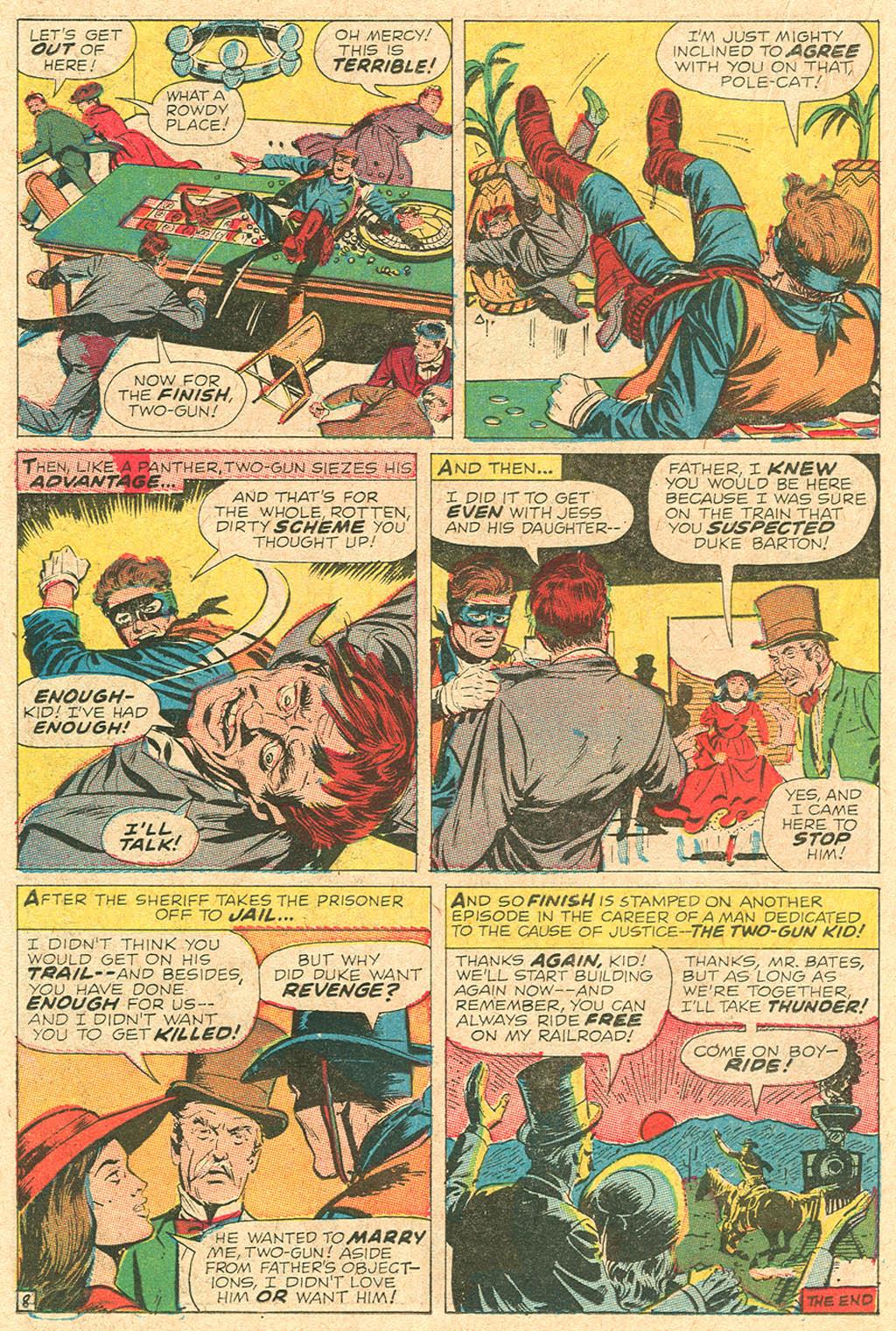 Read online Two-Gun Kid comic -  Issue #92 - 22