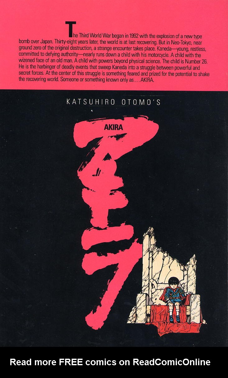 Read online Akira comic -  Issue #1 - 64