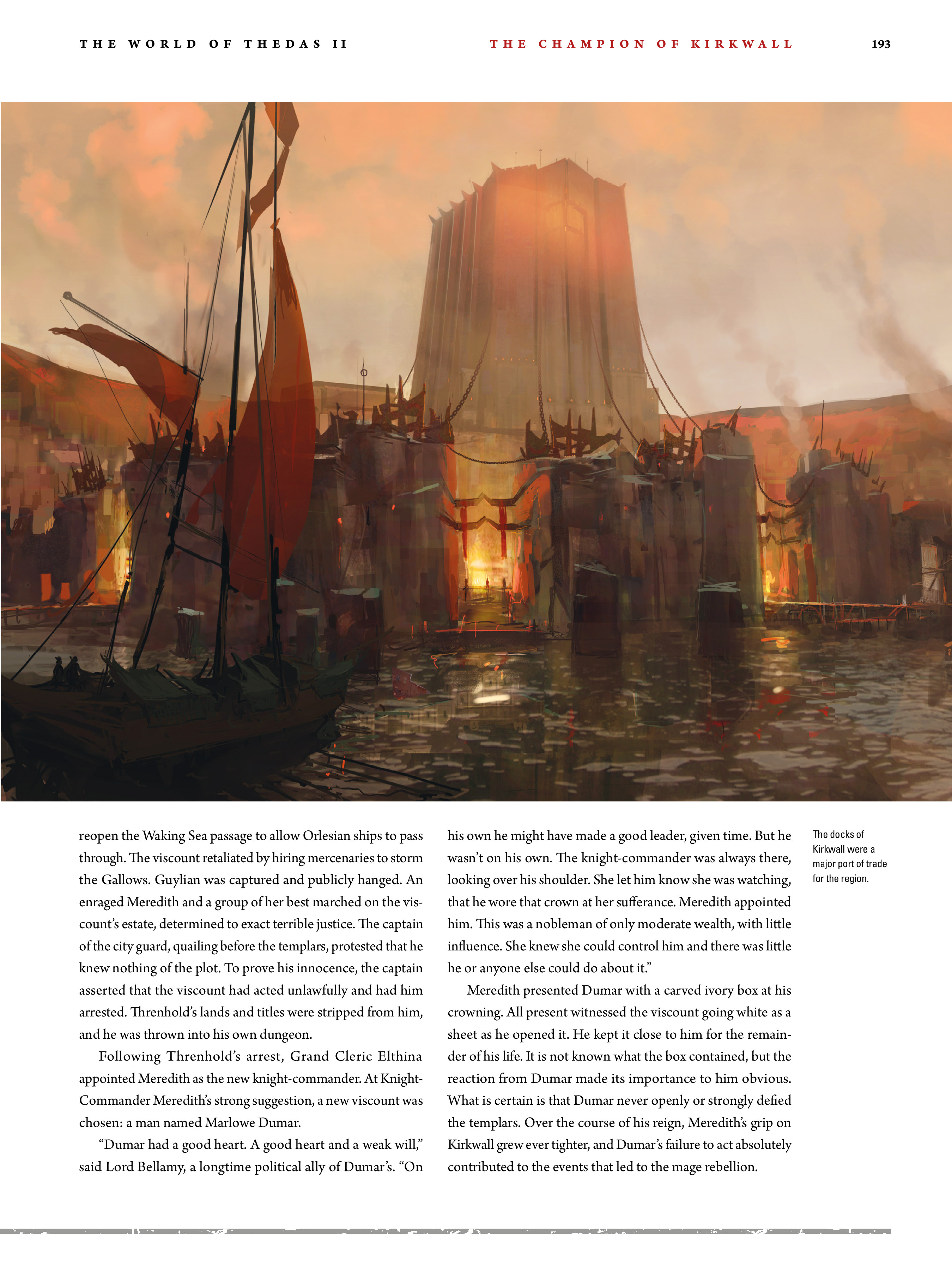 Read online Dragon Age: The World of Thedas comic -  Issue # TPB 2 - 188