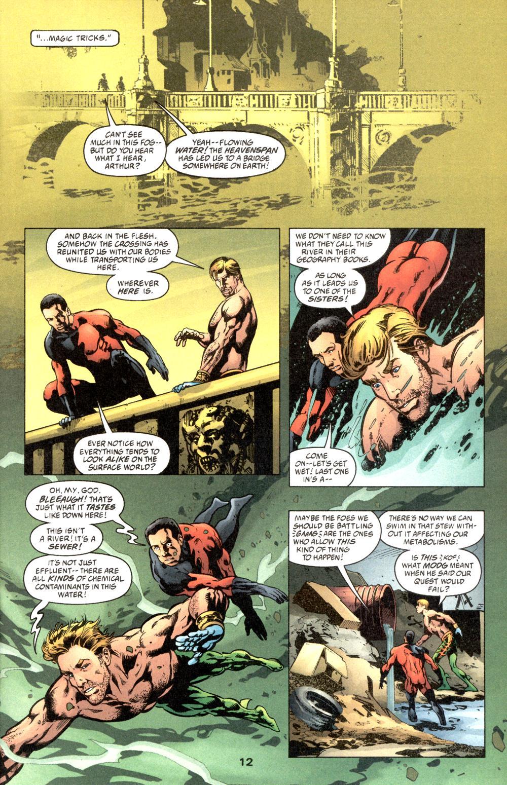 Read online Aquaman (2003) comic -  Issue #6 - 14