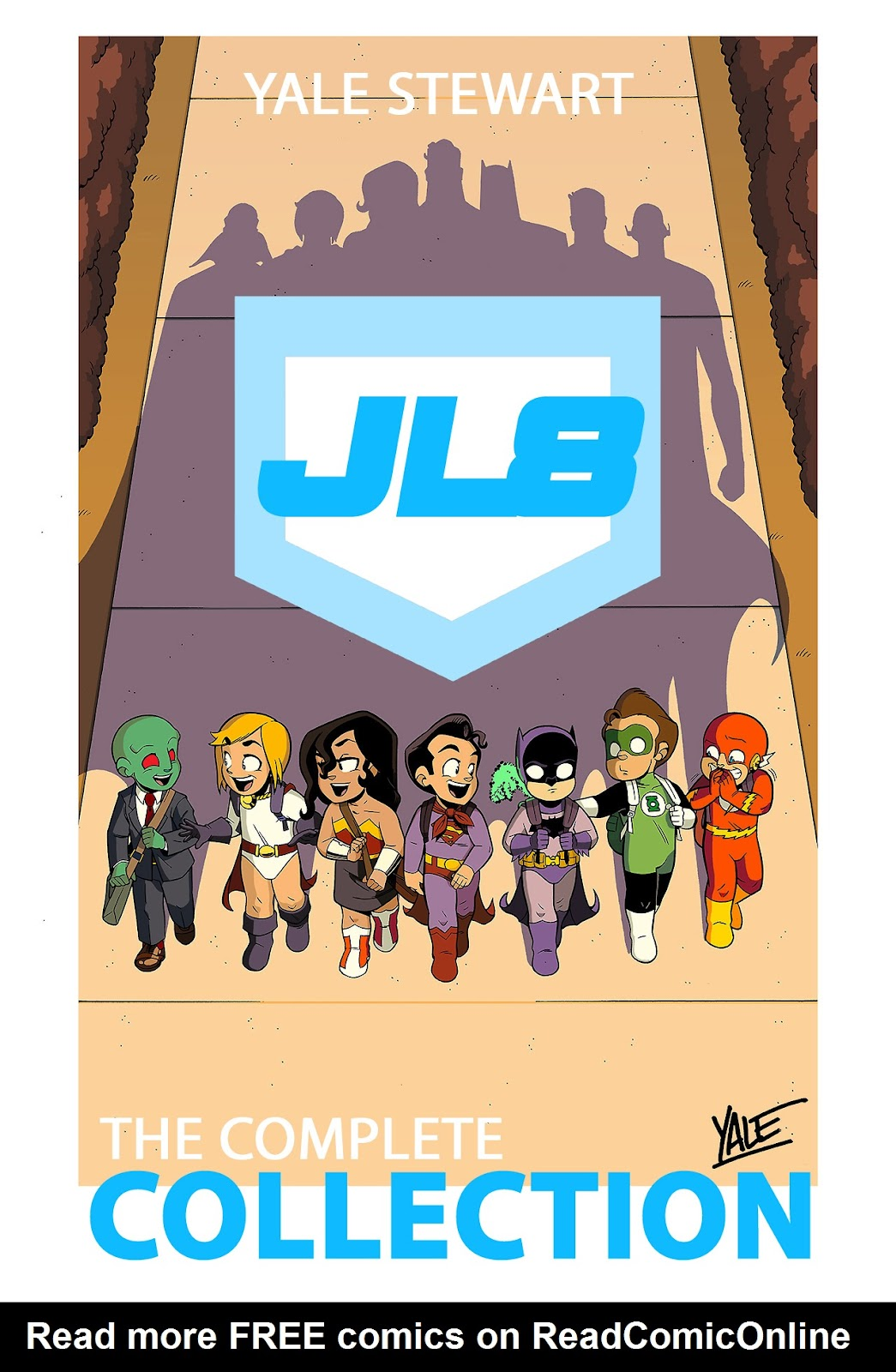 Read online JL8 – The Complete Collection comic -  Issue # TPB (Part 1) - 1