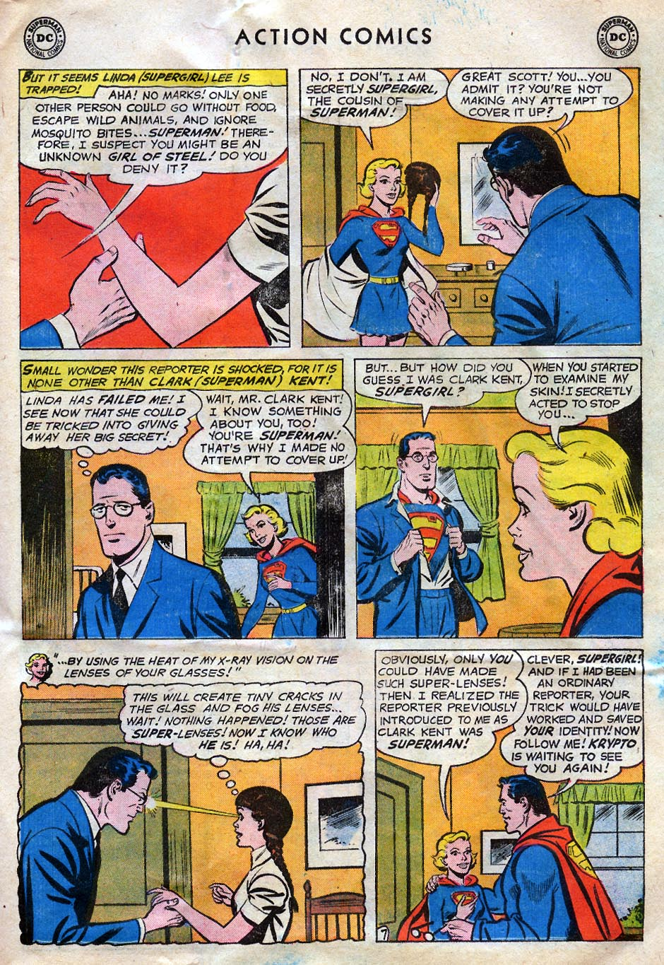 Read online Action Comics (1938) comic -  Issue #258 - 31