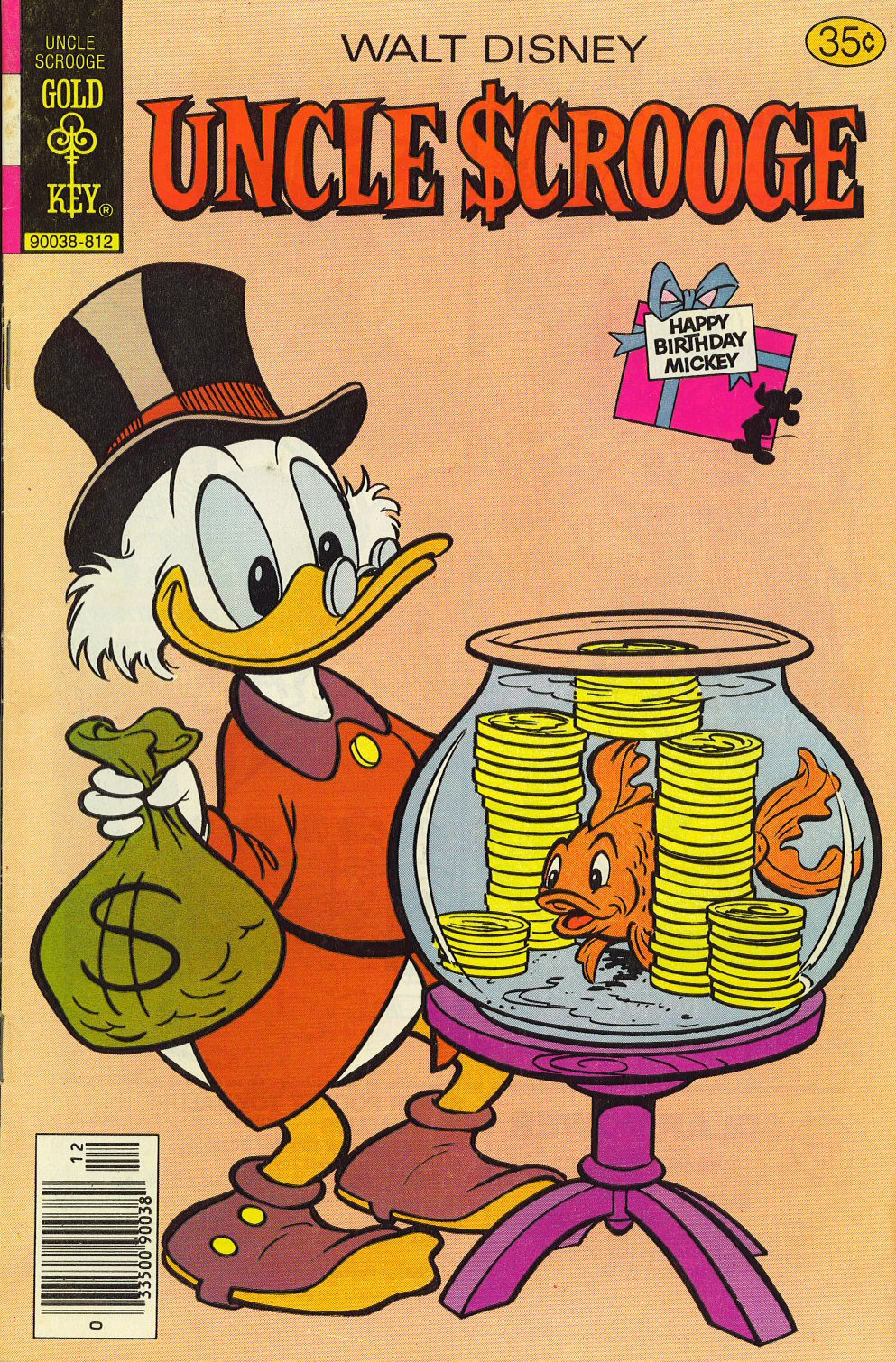 Read online Uncle Scrooge (1953) comic -  Issue #159 - 1