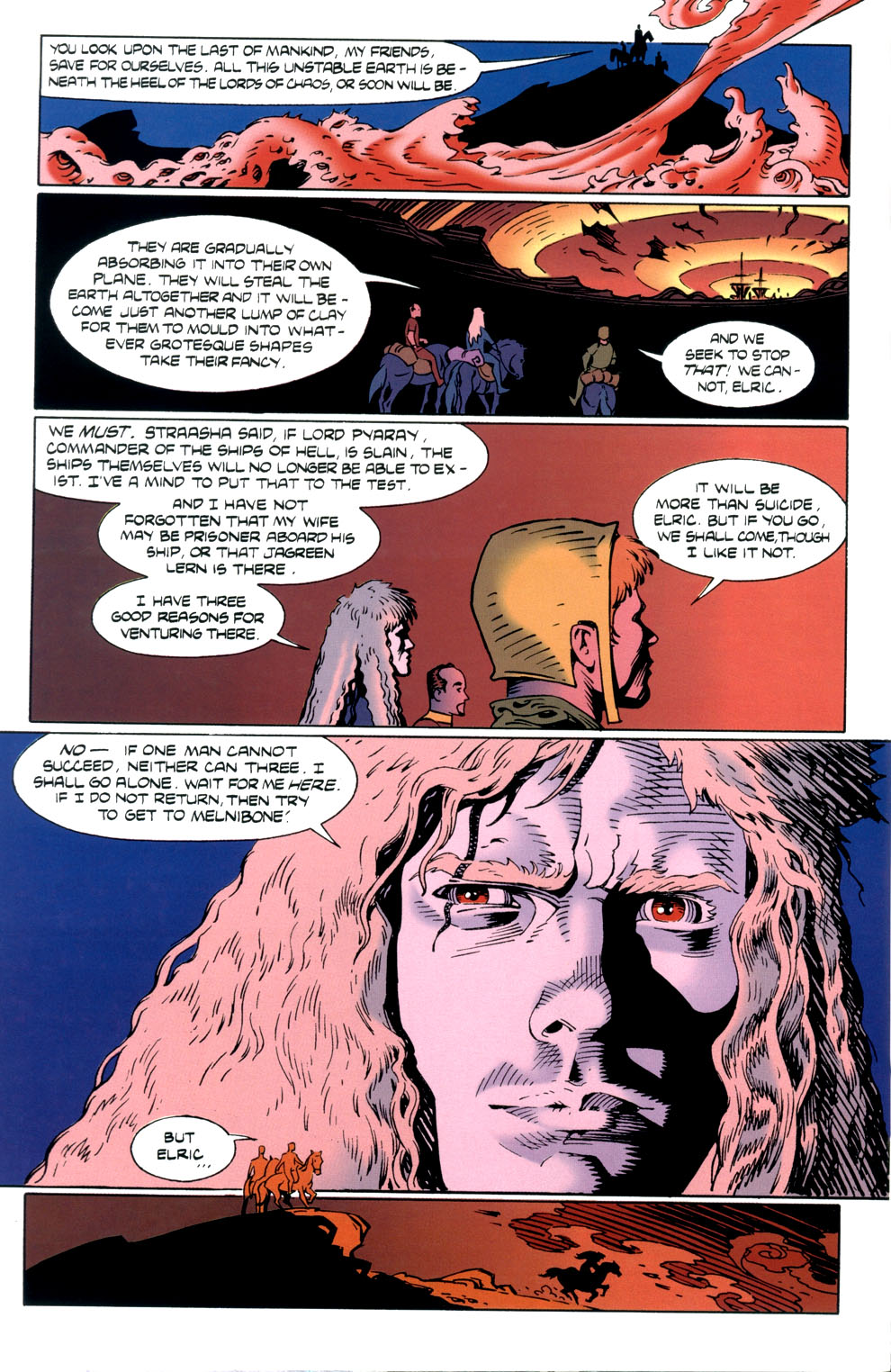 Read online Elric: Stormbringer comic -  Issue #5 - 22