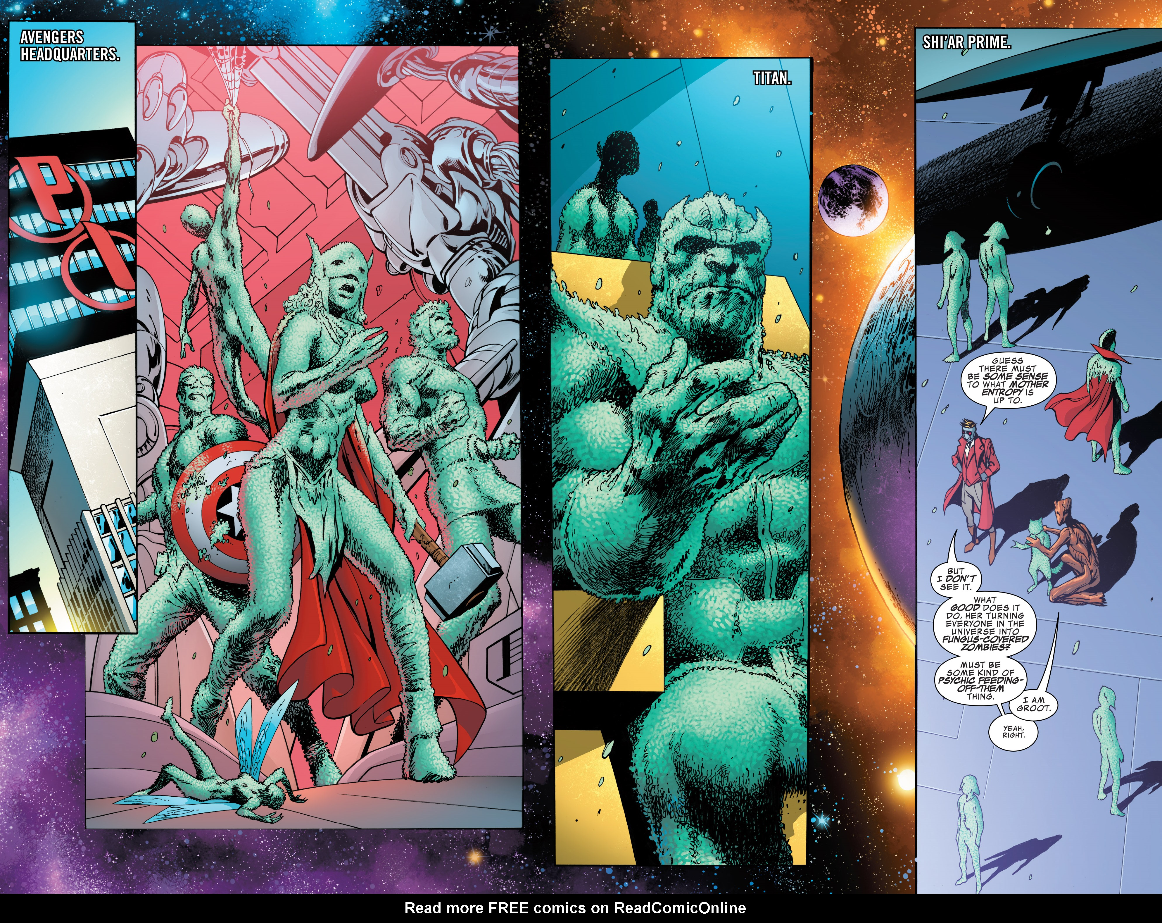Read online Guardians of the Galaxy: Mother Entropy comic -  Issue #5 - 4