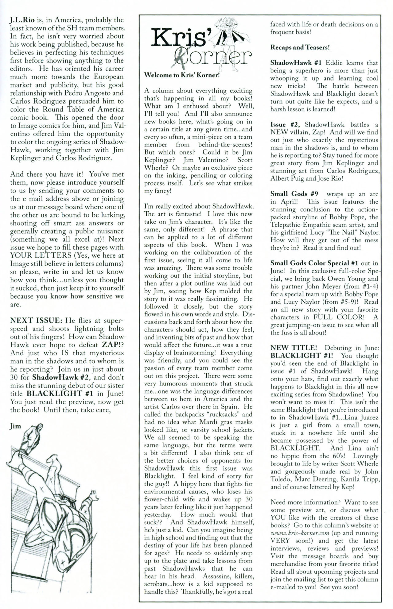 Read online ShadowHawk (2005) comic -  Issue #1 - 34