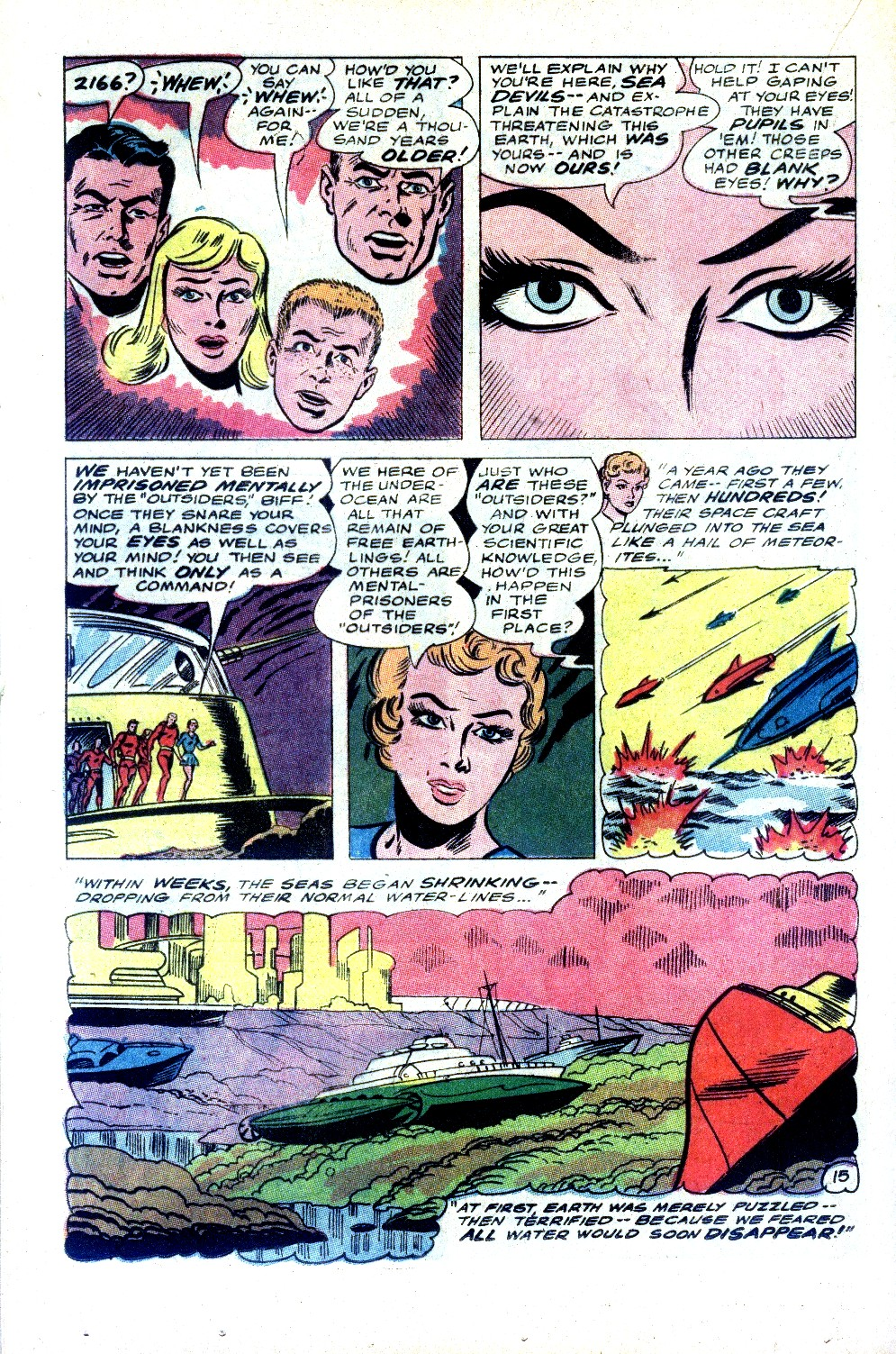 Read online Sea Devils comic -  Issue #32 - 21