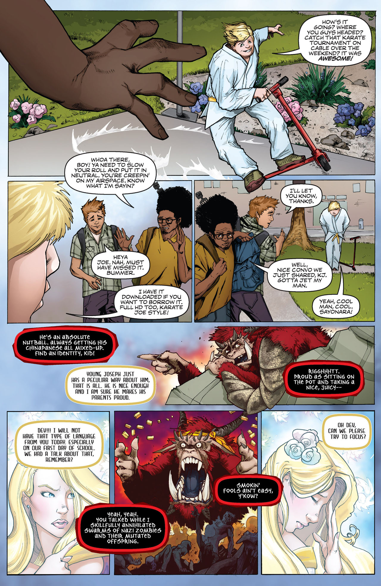 Read online Shrugged (2013) comic -  Issue #1 - 10