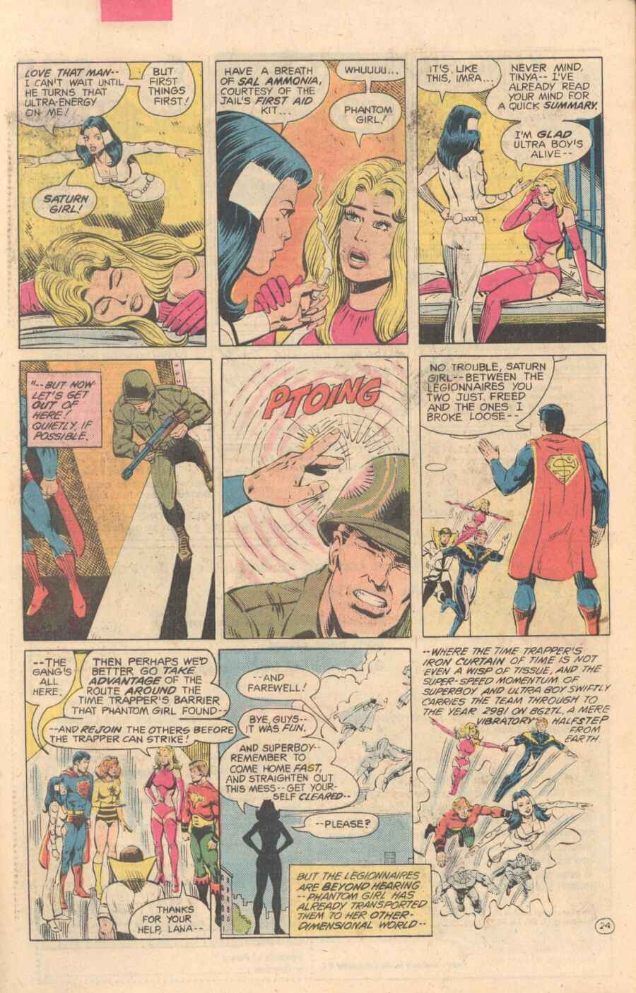 Legion of Super-Heroes (1980) 282 Page 24