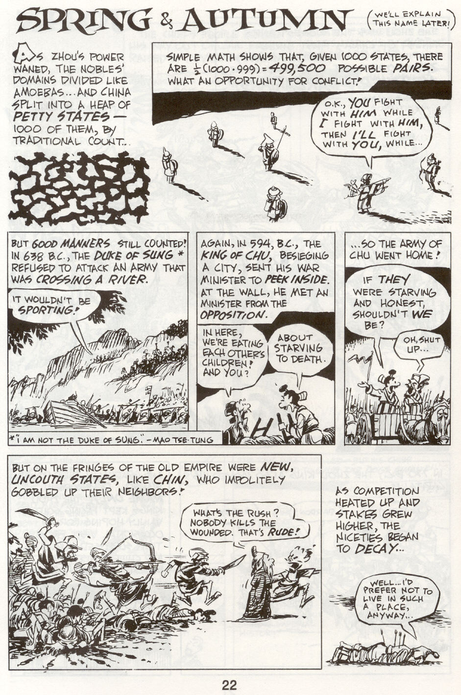 Read online The Cartoon History of the Universe comic -  Issue #9 - 25