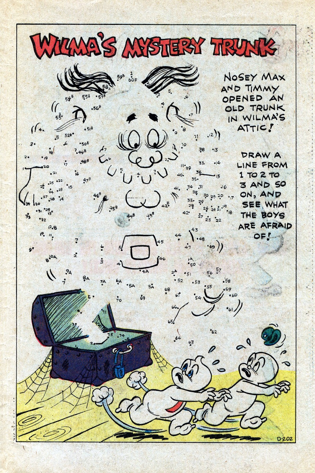 Read online Timmy the Timid Ghost comic -  Issue #20 - 28