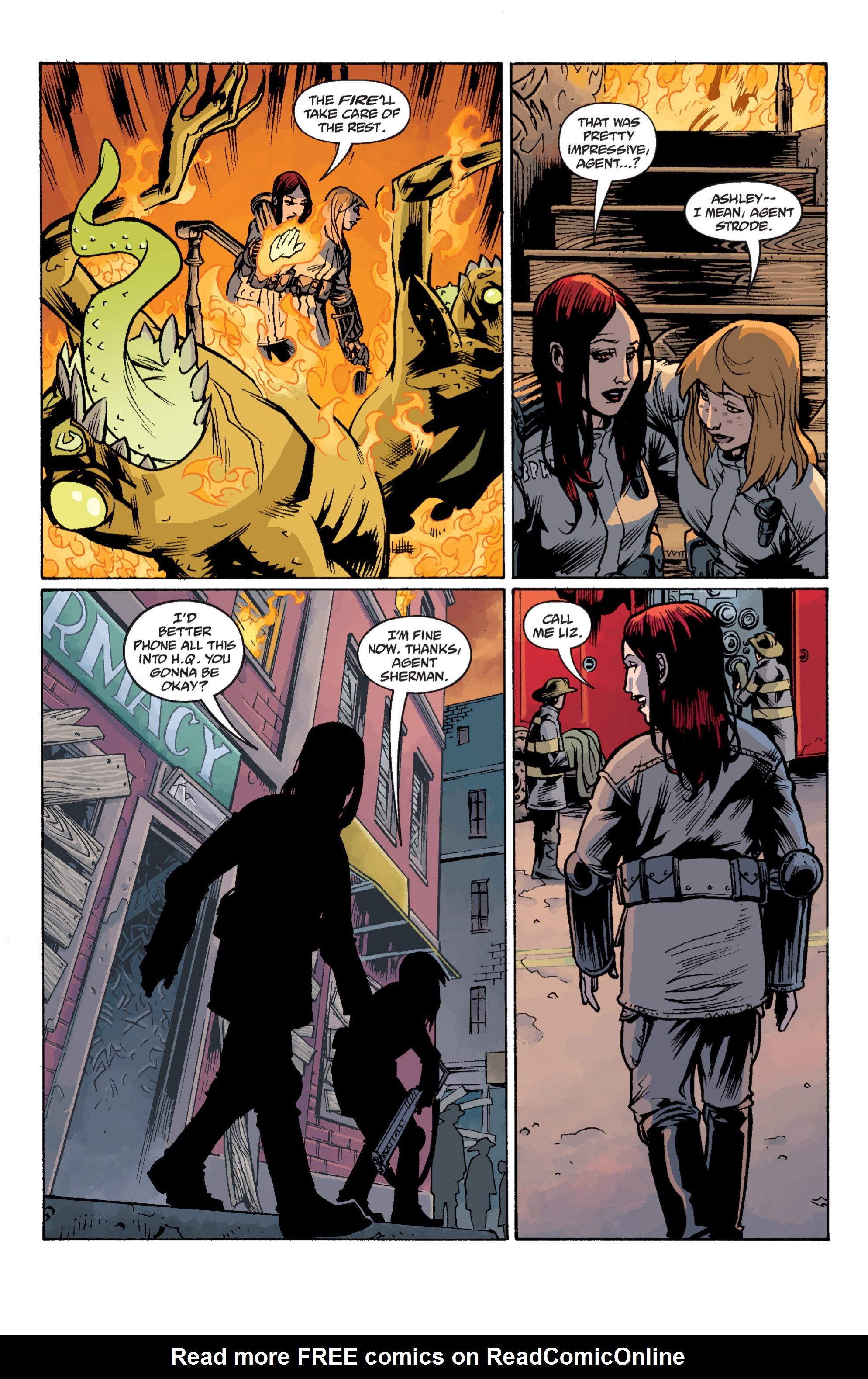 Read online B.P.R.D. (2003) comic -  Issue # TPB 12 - 126