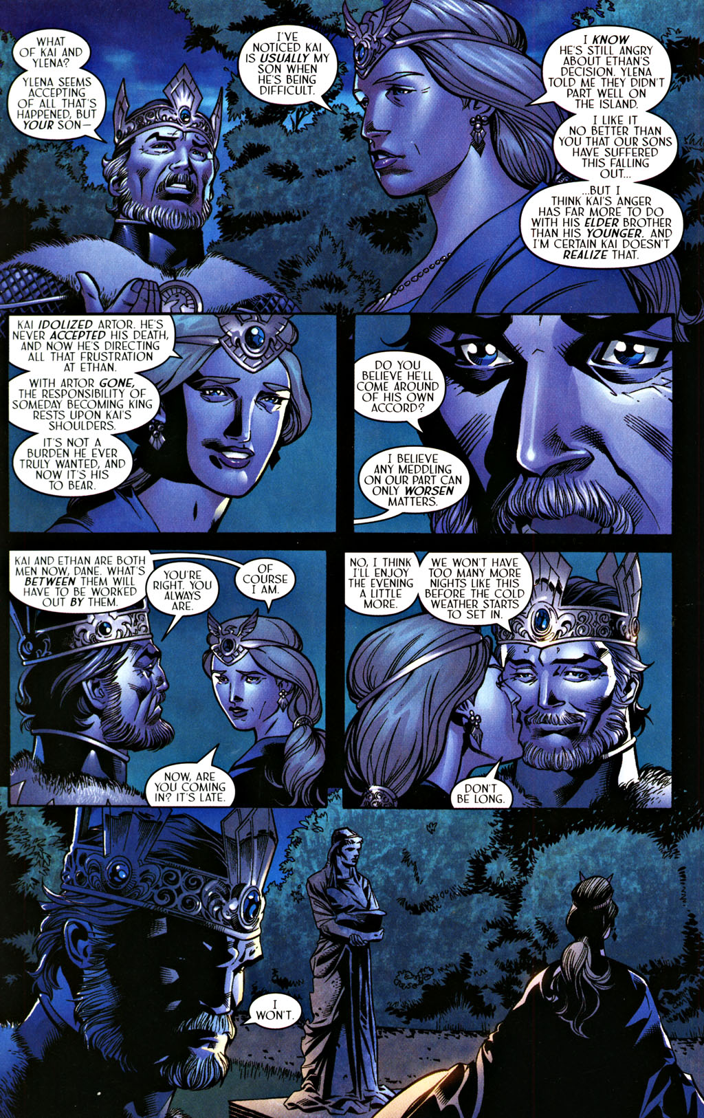 Read online Scion comic -  Issue #28 - 20