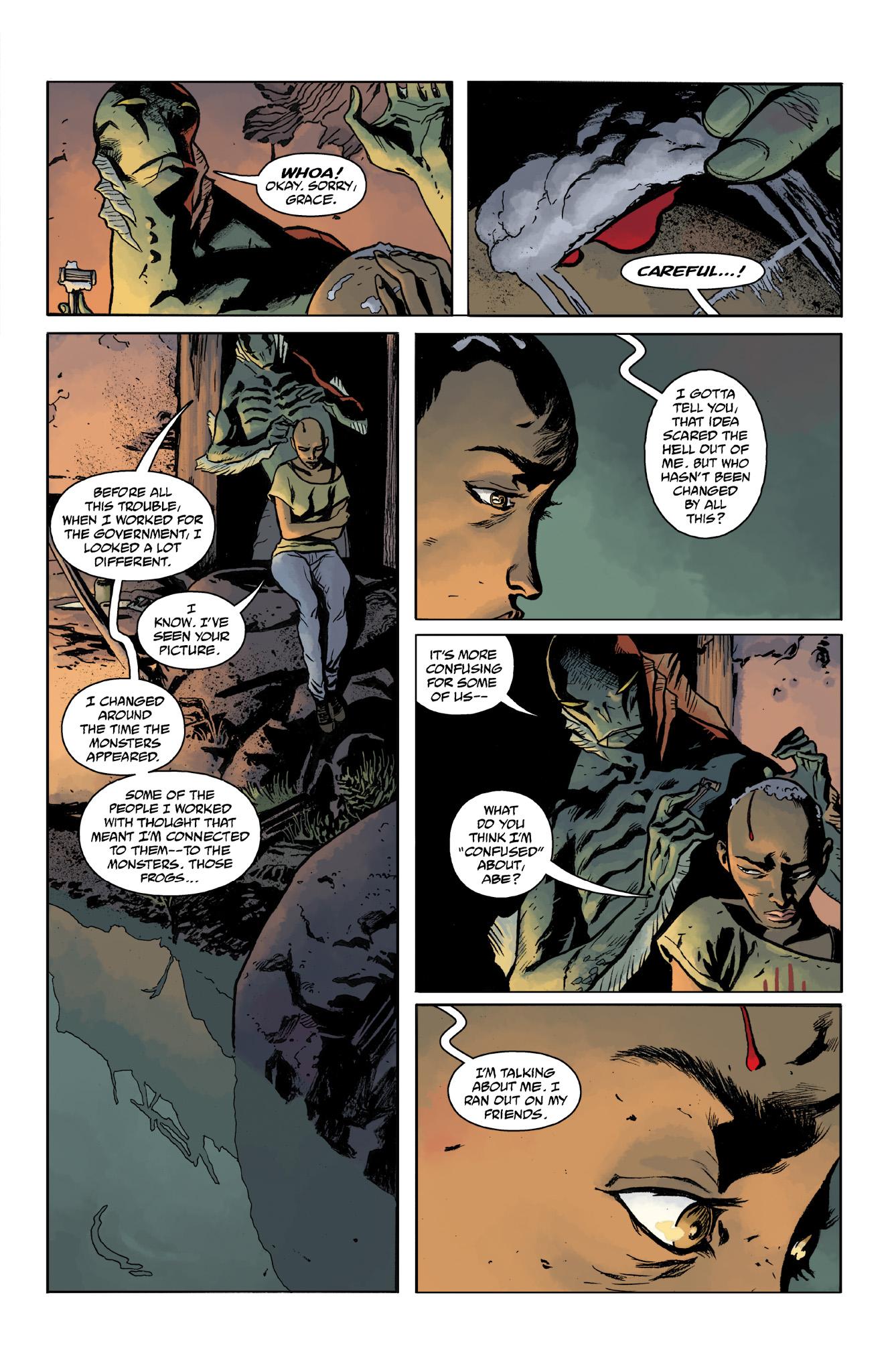 Read online Abe Sapien comic -  Issue #14 - 9