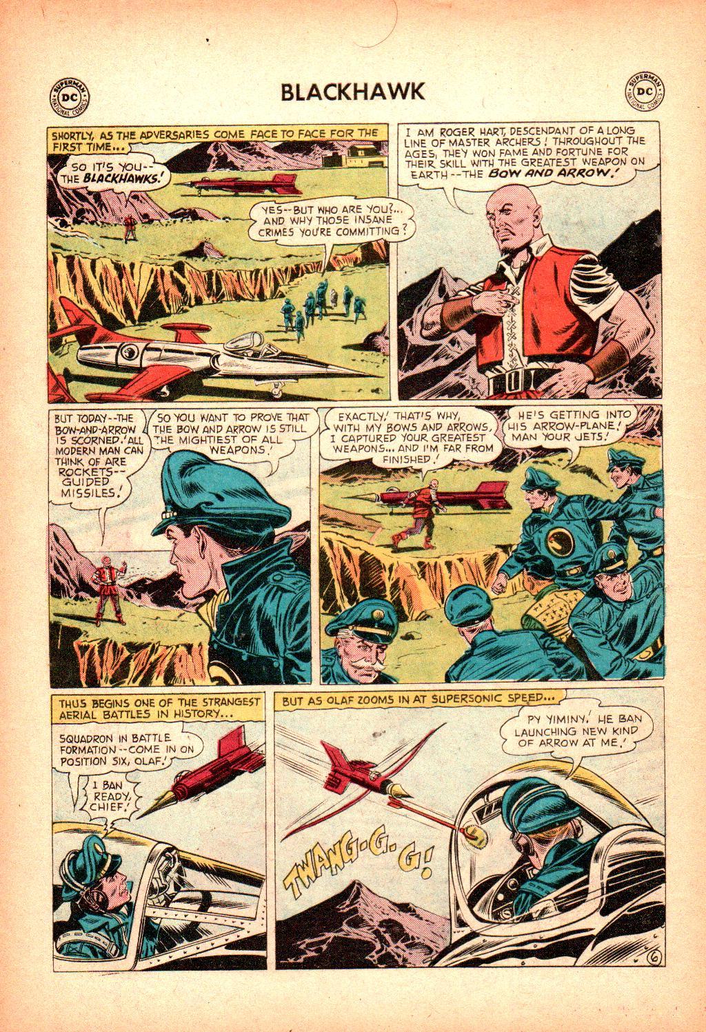 Blackhawk (1957) Issue #128 #21 - English 8