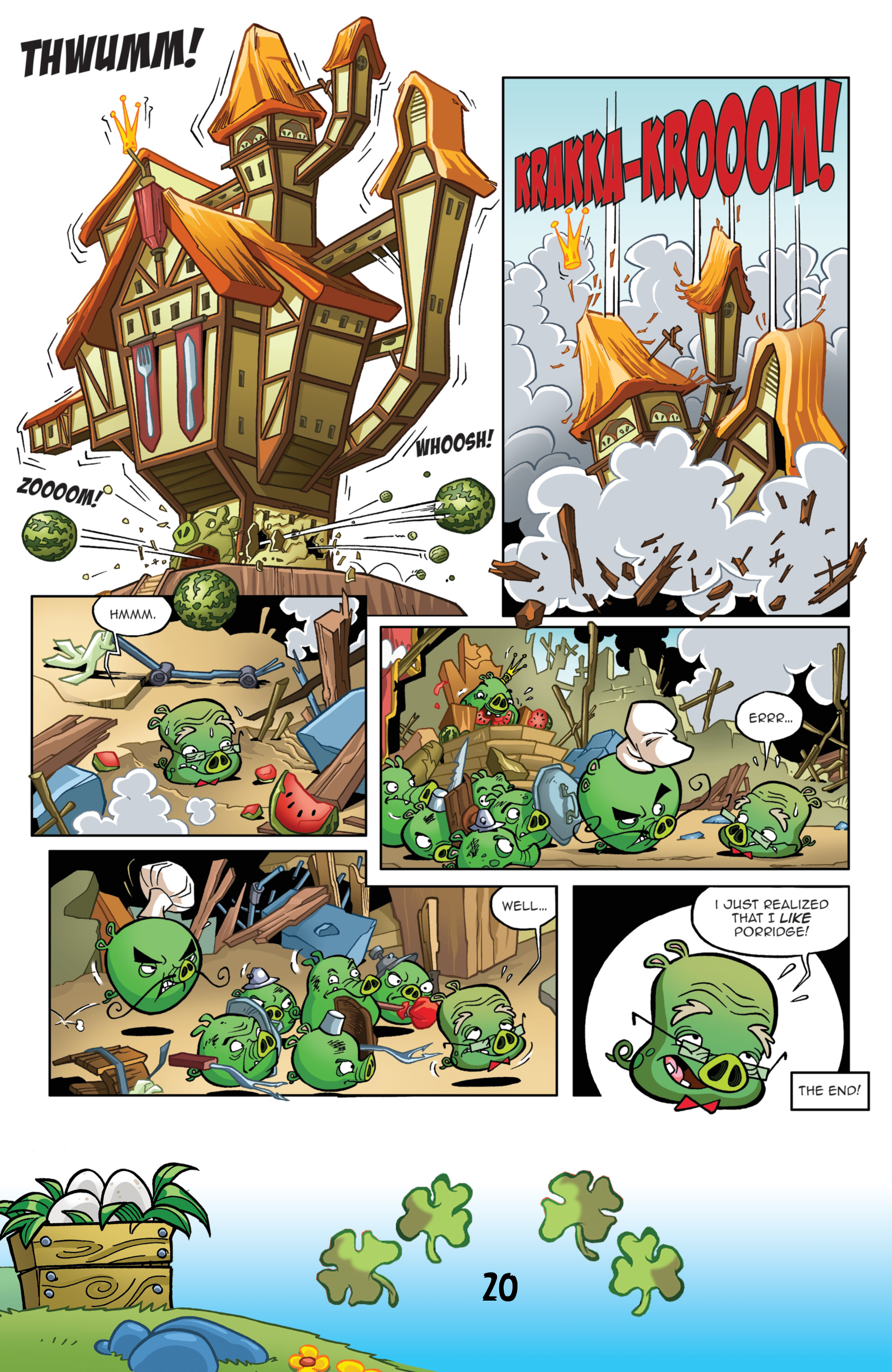 Read online Angry Birds Comics (2016) comic -  Issue #3 - 22