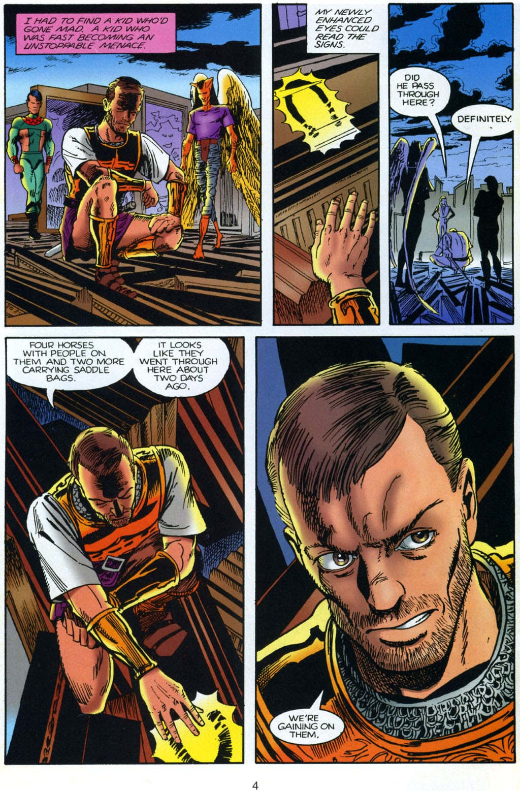 Read online Harsh Realm comic -  Issue #4 - 5