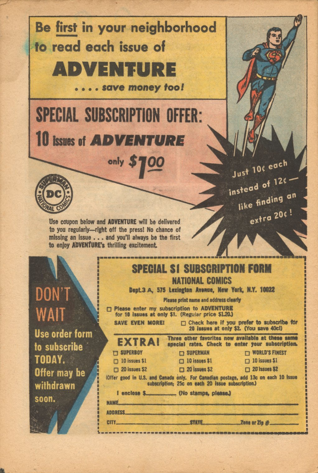 Read online Adventure Comics (1938) comic -  Issue #321 - 32