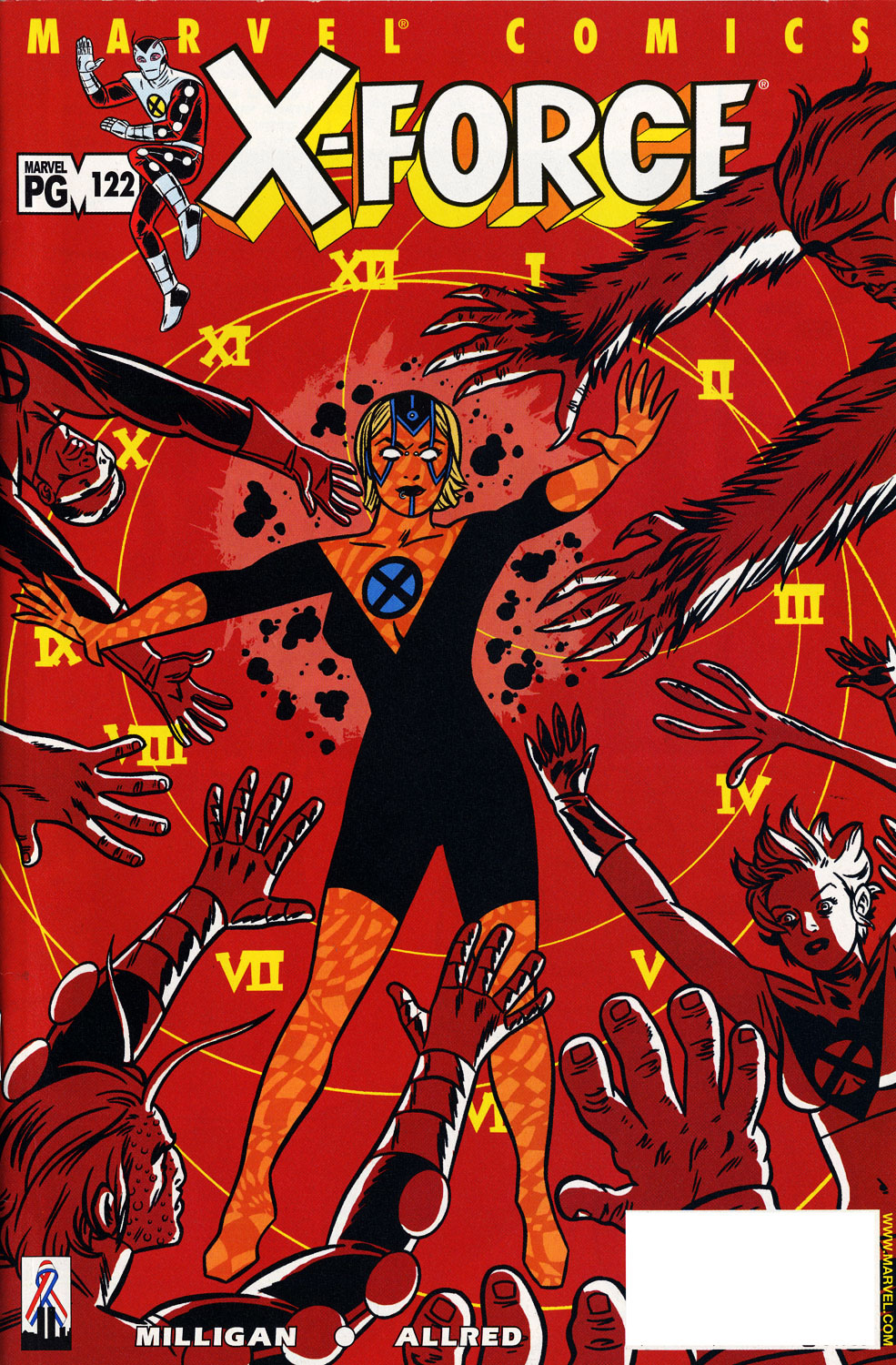 Read online X-Force (1991) comic -  Issue #122 - 1