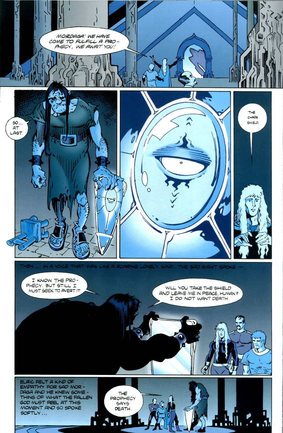 Read online Elric: Stormbringer comic -  Issue #5 - 17