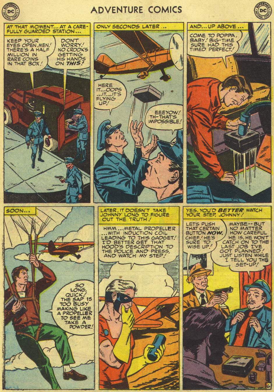Read online Adventure Comics (1938) comic -  Issue #167 - 30