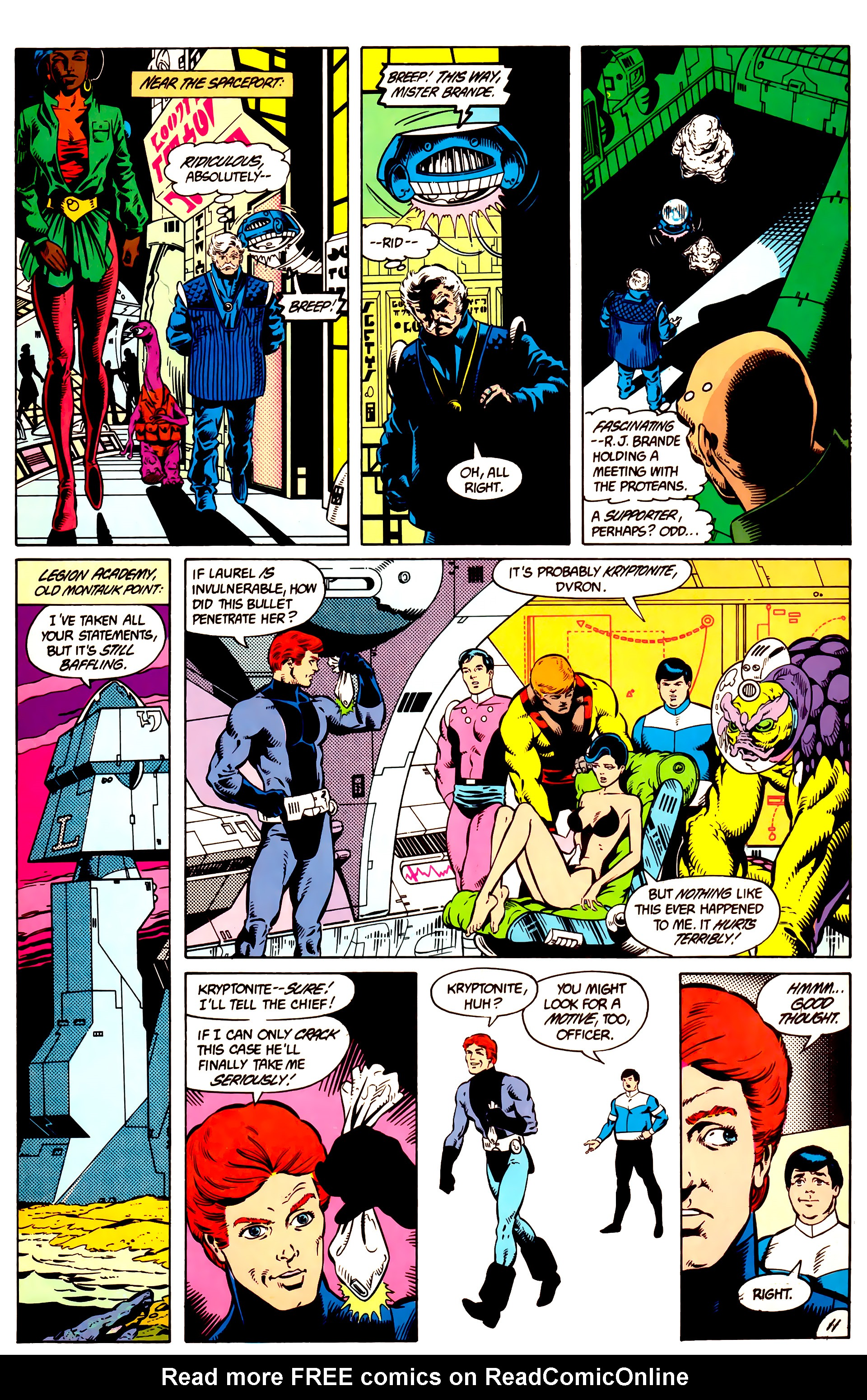 Legion of Super-Heroes (1984) 9 Page 12