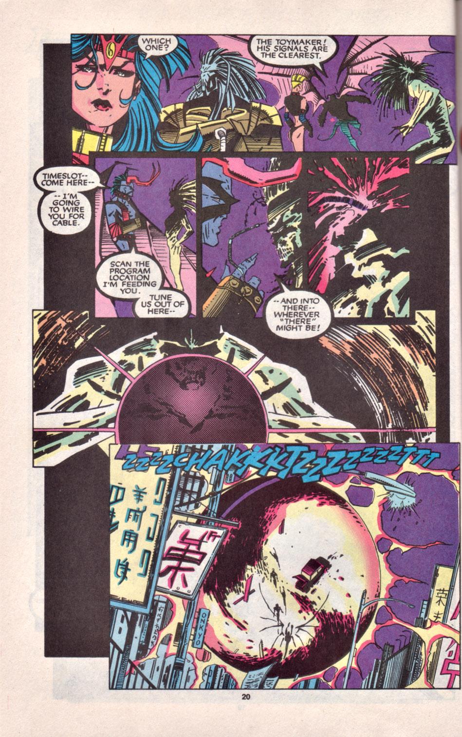 Read online Uncanny X-Men (1963) comic -  Issue # _Annual 16 - 18
