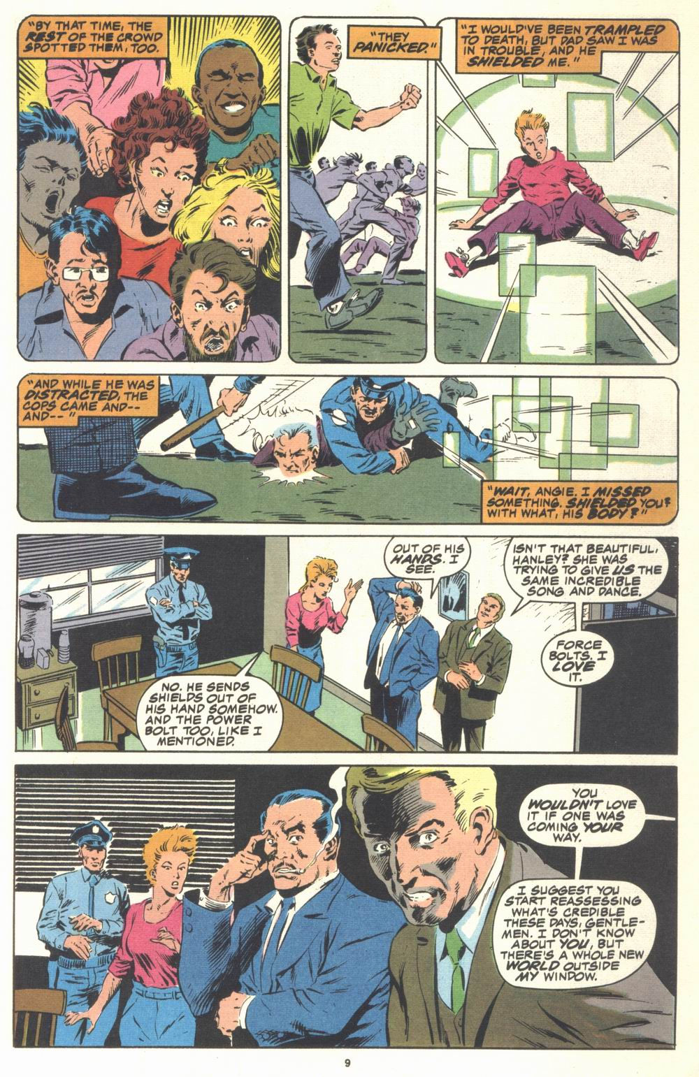 Read online Justice (1986) comic -  Issue #21 - 11