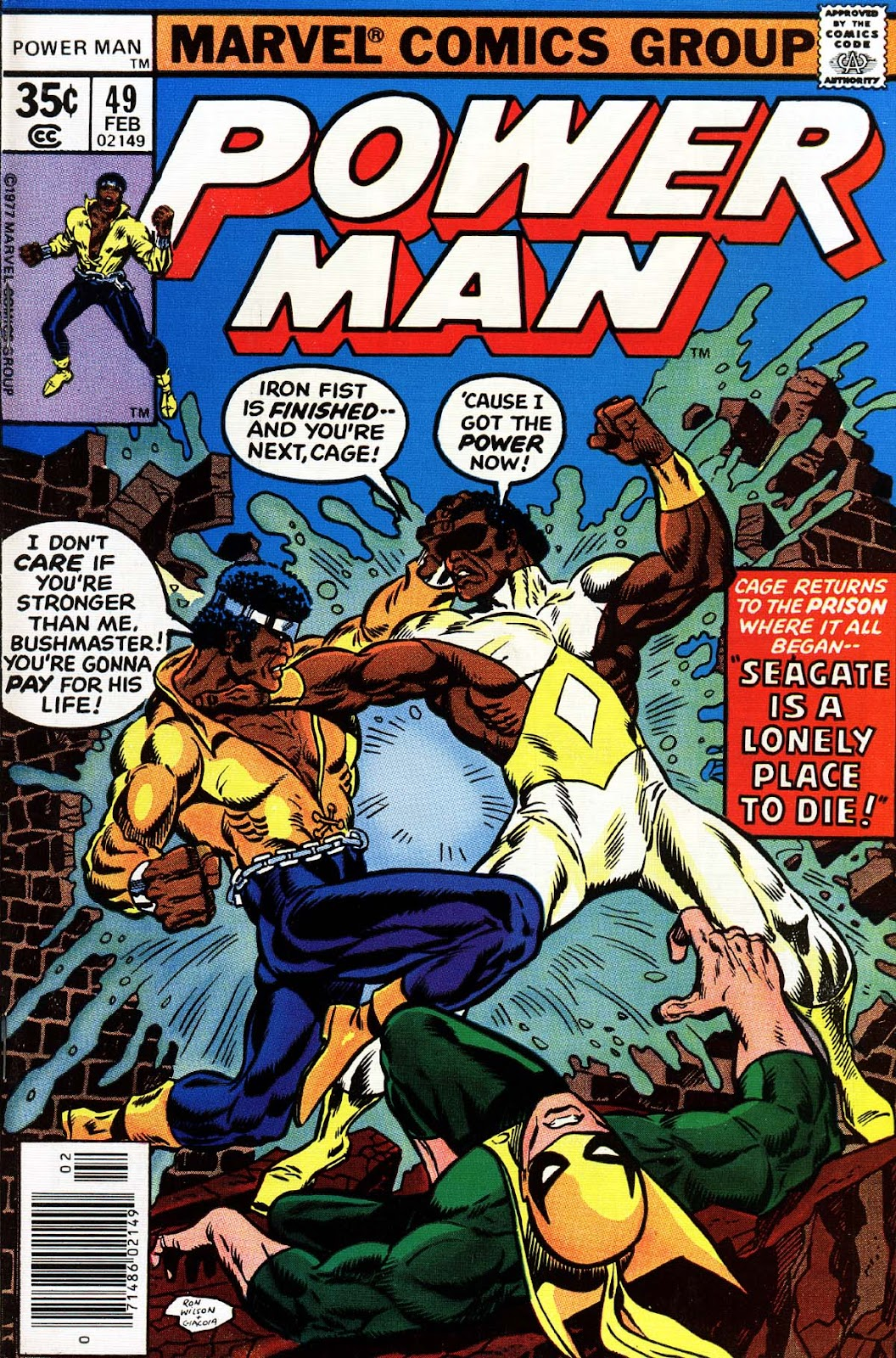 Power Man issue 49 - Page 1