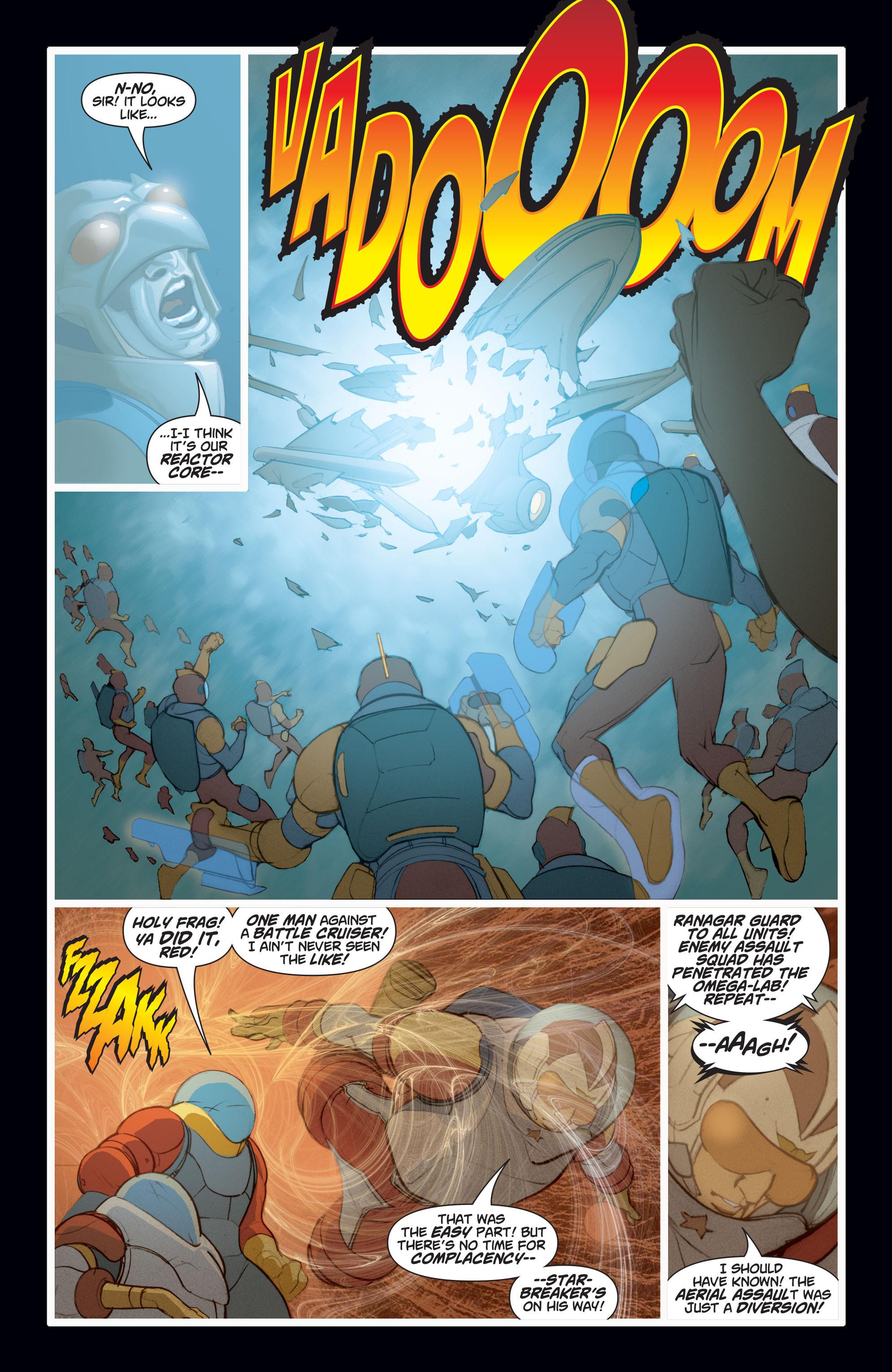 Read online Adam Strange (2004) comic -  Issue #8 - 9