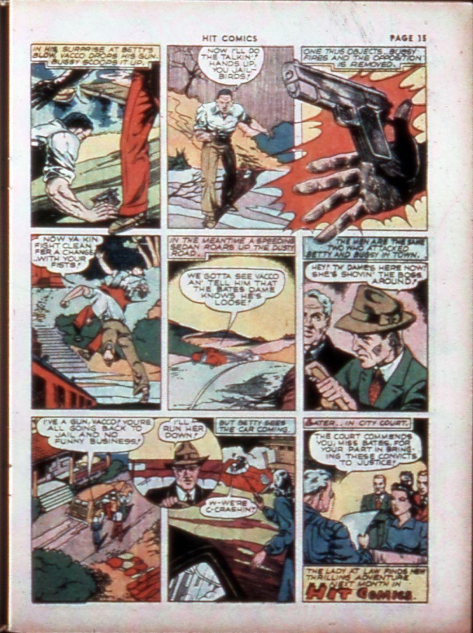 Read online Hit Comics comic -  Issue #14 - 17