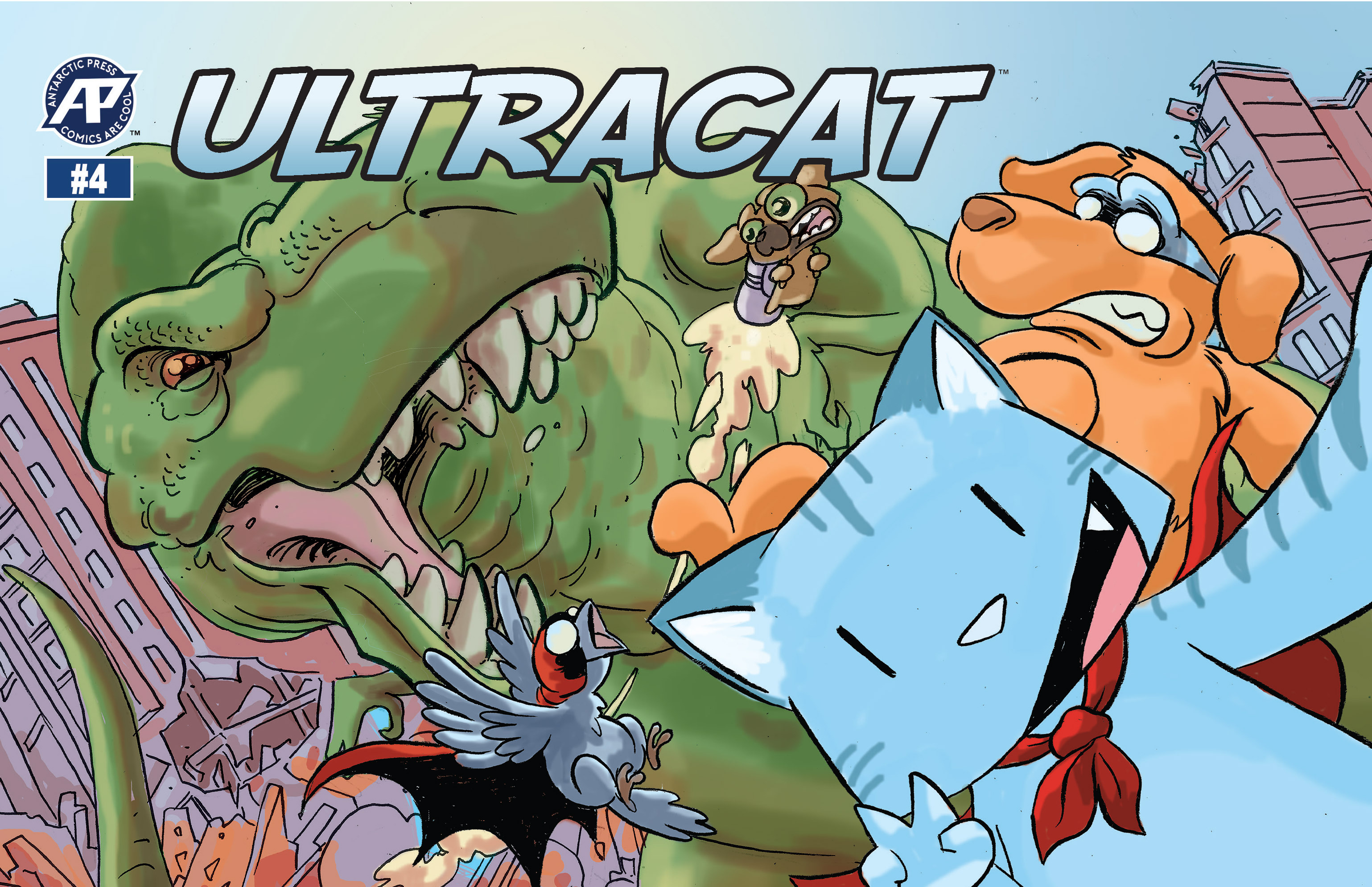 Read online Ultracat comic -  Issue #4 - 1