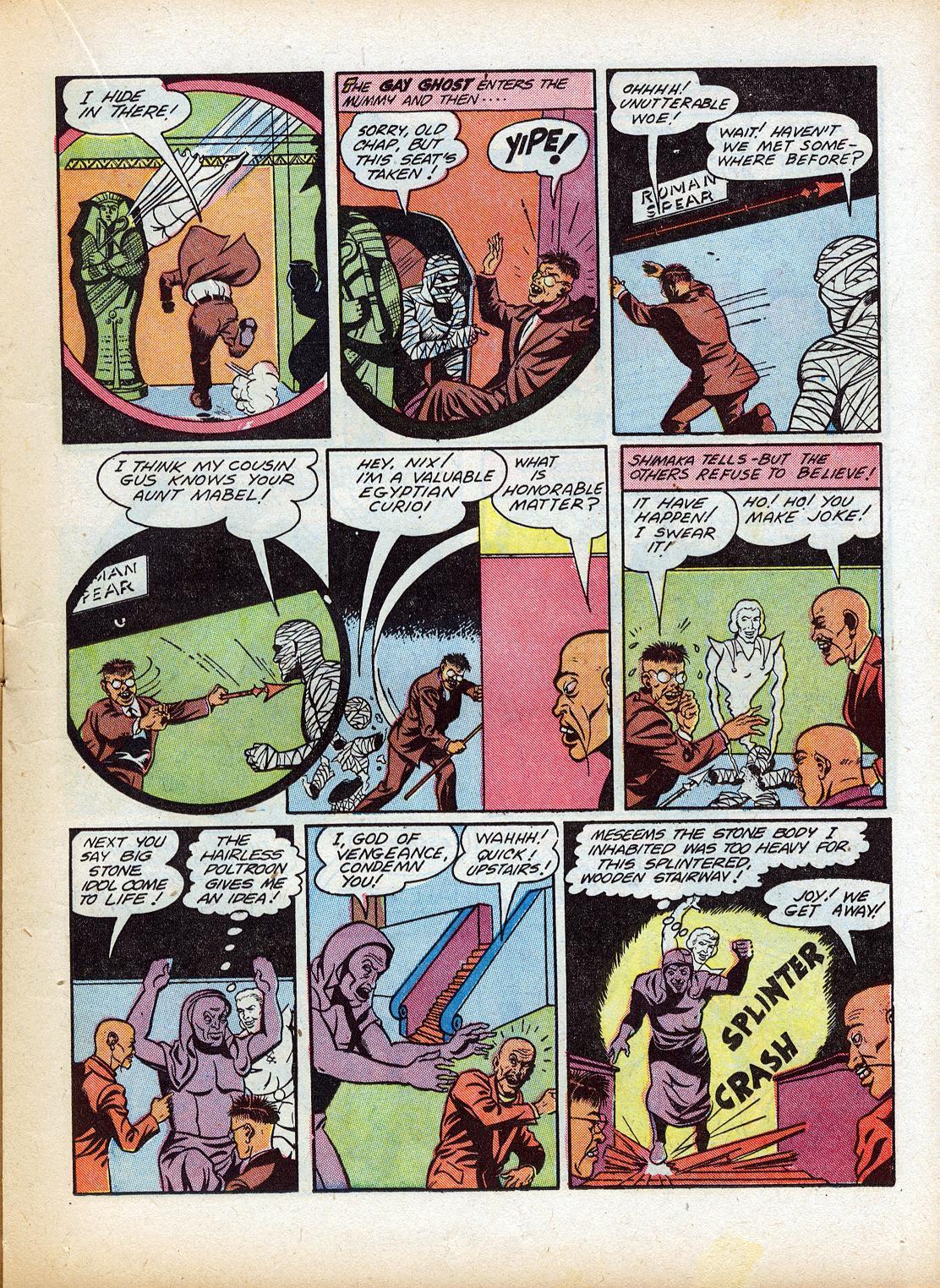 Read online Sensation (Mystery) Comics comic -  Issue #18 - 29